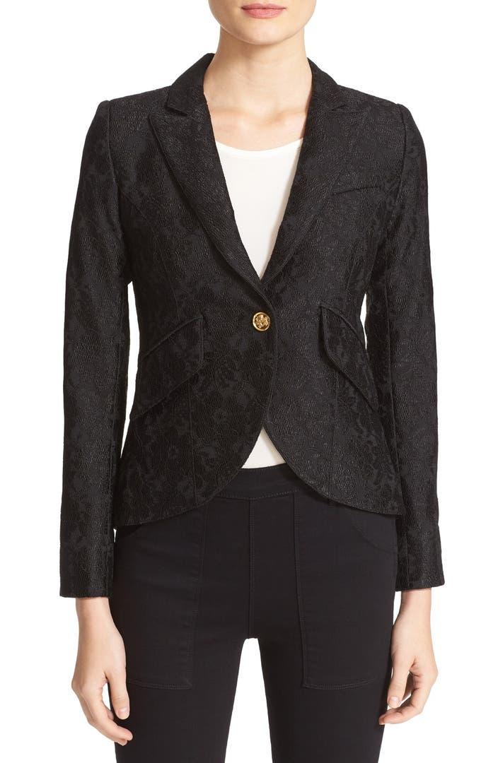 Smythe corded lace blazer nordstrom for Smythe designer