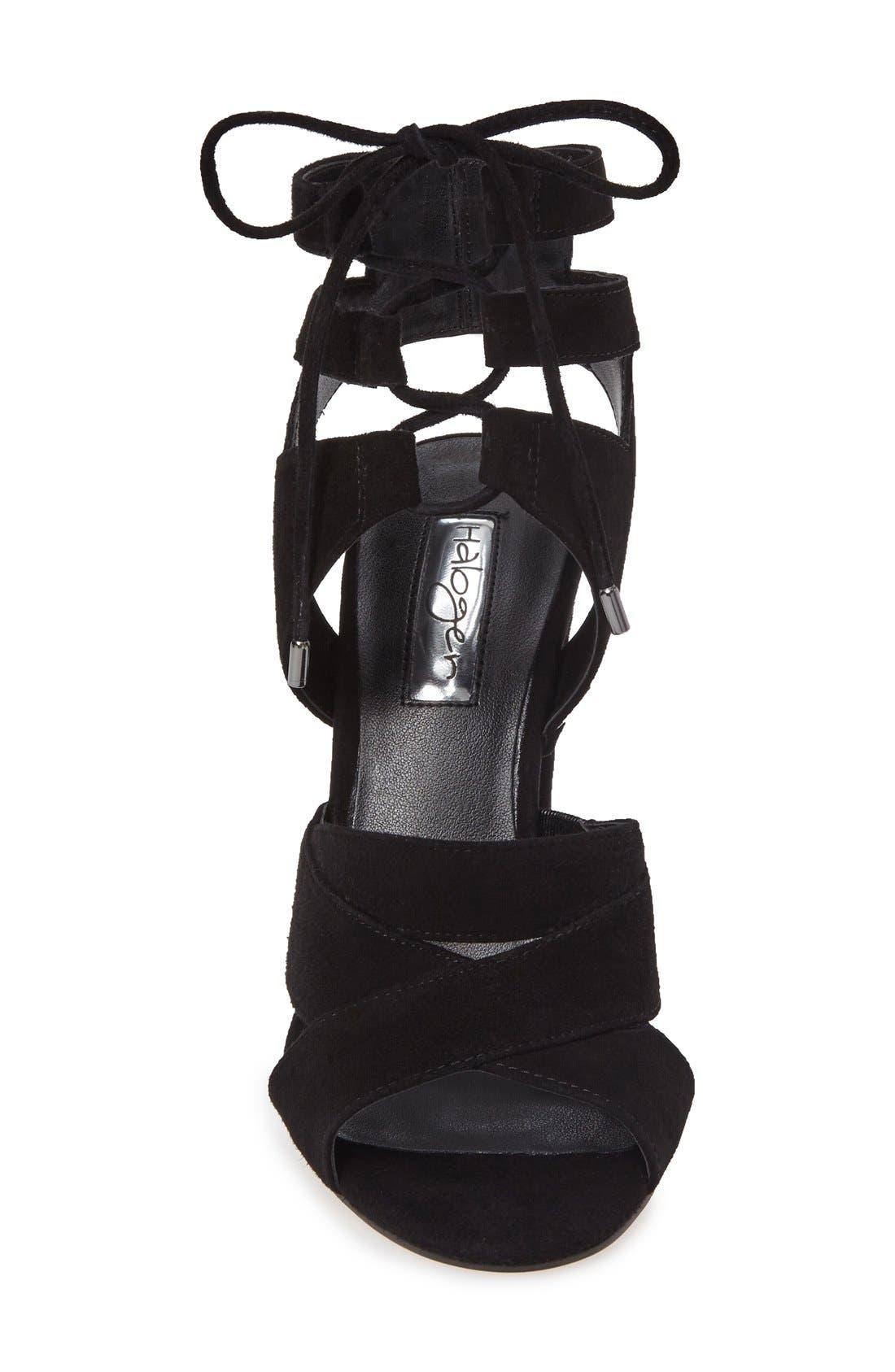 Alternate Image 3  - Halogen® Lani Strappy Lace-Up Sandal (Women)