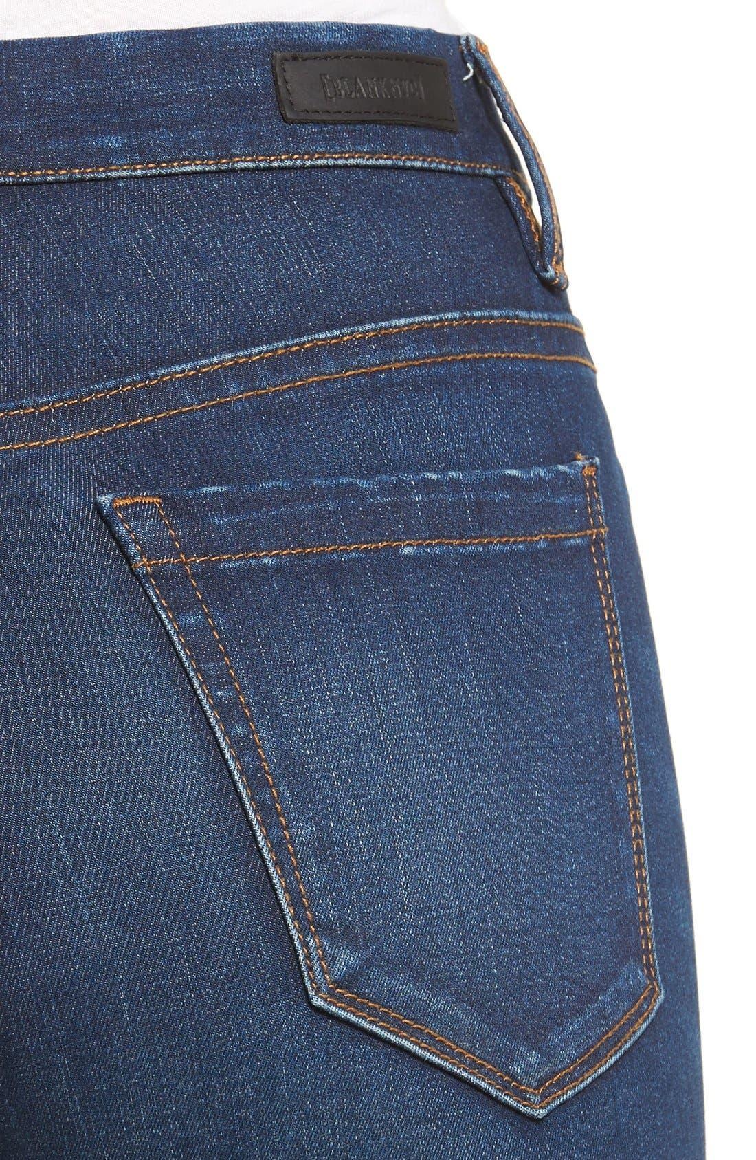 Alternate Image 4  - BLANKNYC Fool Me Twice Skinny Jeans