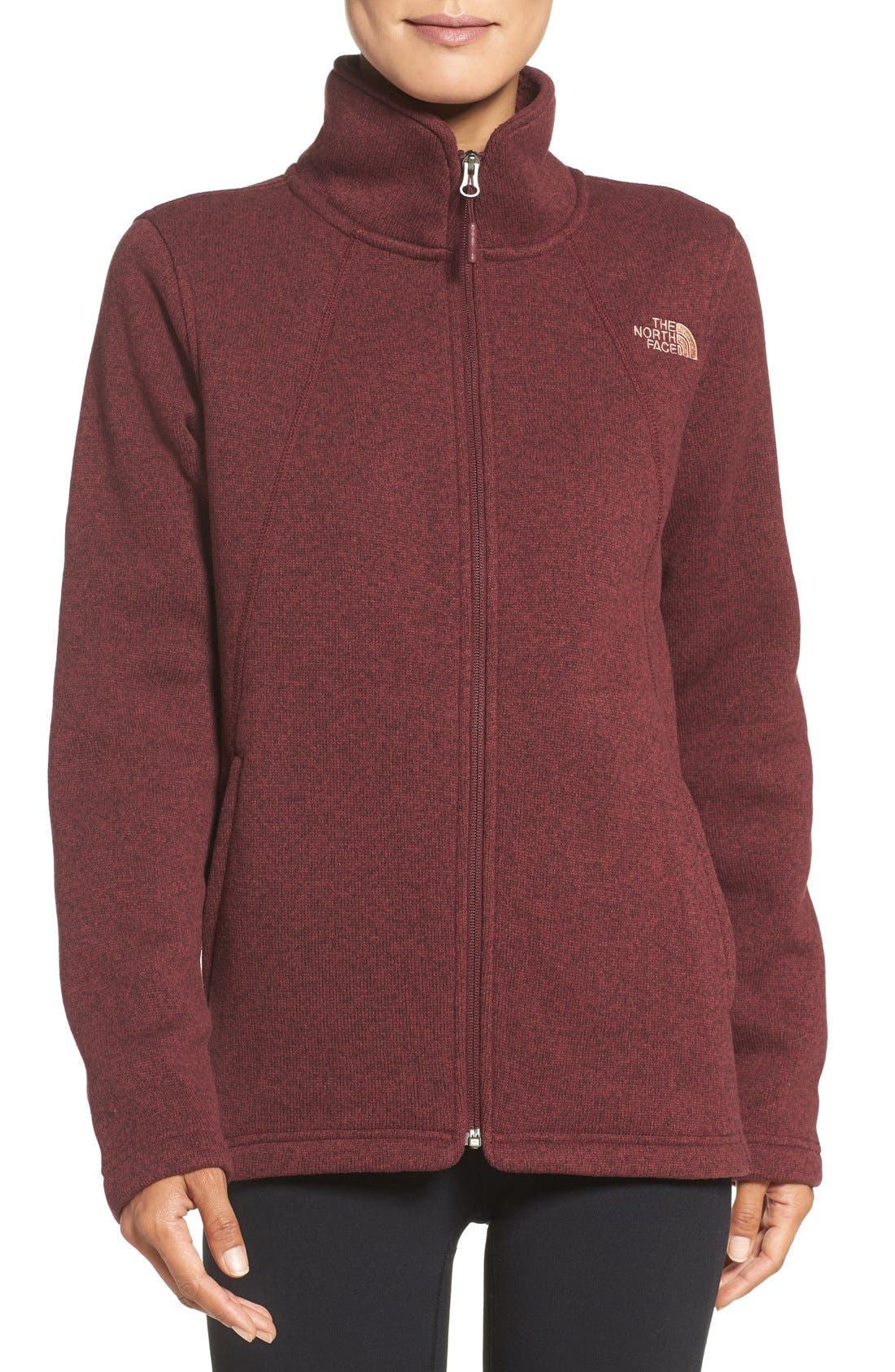 Alternate Image 1 Selected - The North Face Crescent Fleece Jacket
