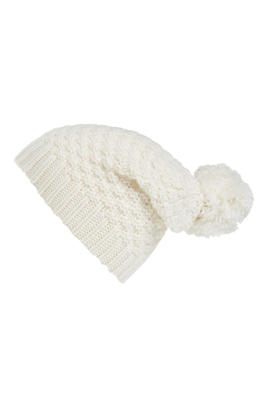 Alternate Image 1 Selected - Halogen® Slouchy Cashmere Beanie