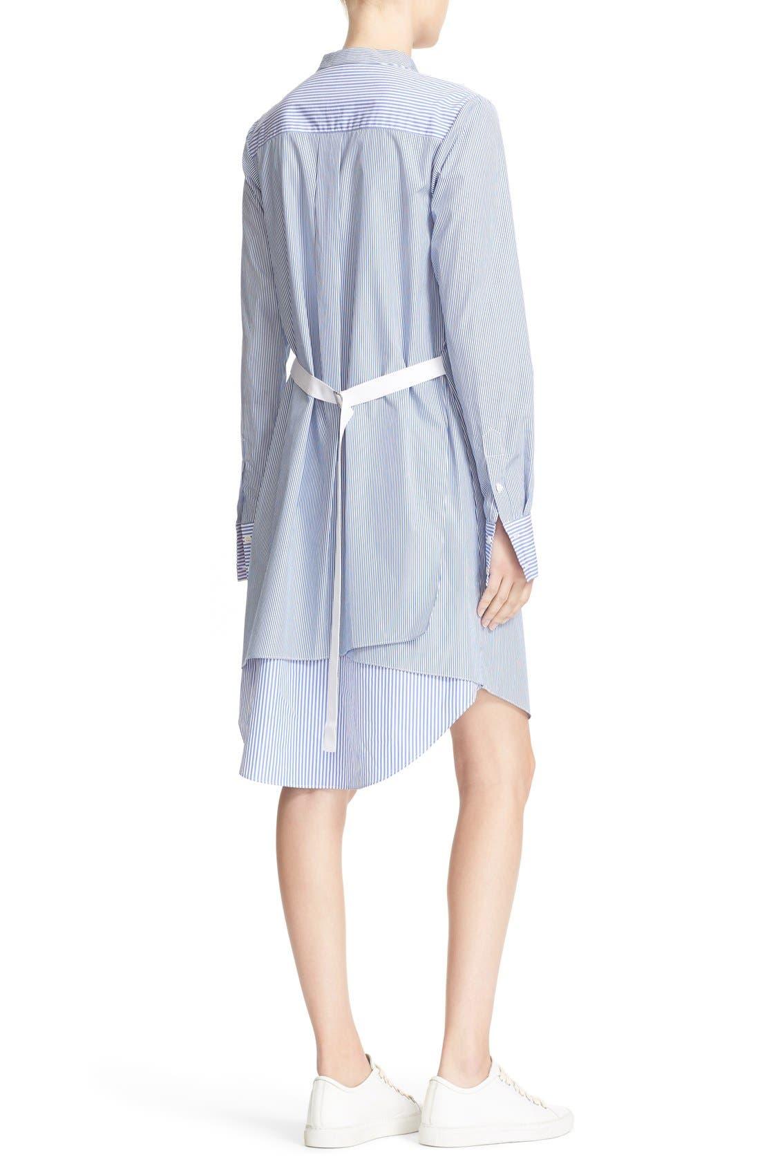 Alternate Image 2  - Theory Jodalee Cotton Poplin Shirtdress