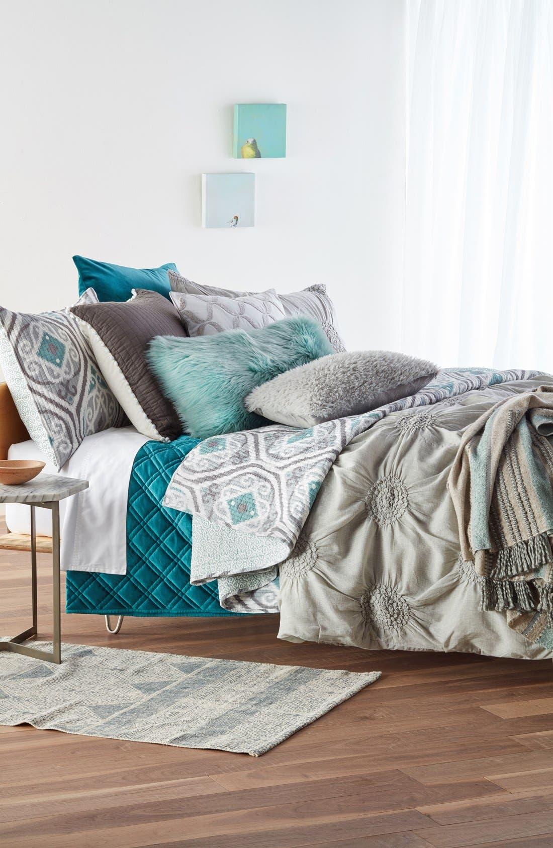 Alternate Image 2  - Mina Victory 'Sumptuous' Faux Fur Accent Pillow