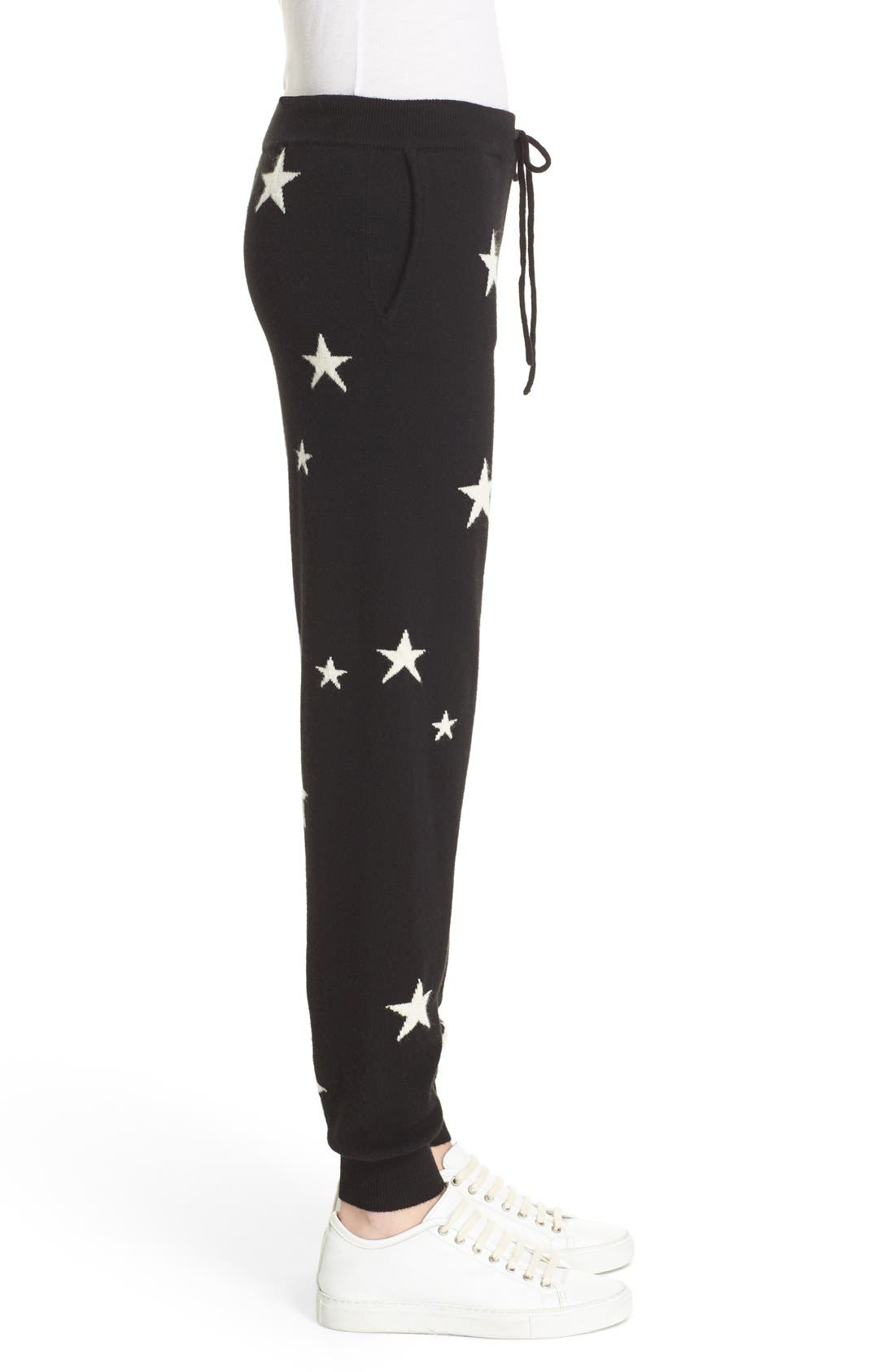 Alternate Image 4  - Chinti and Parker Star Knit Cashmere Track Pants
