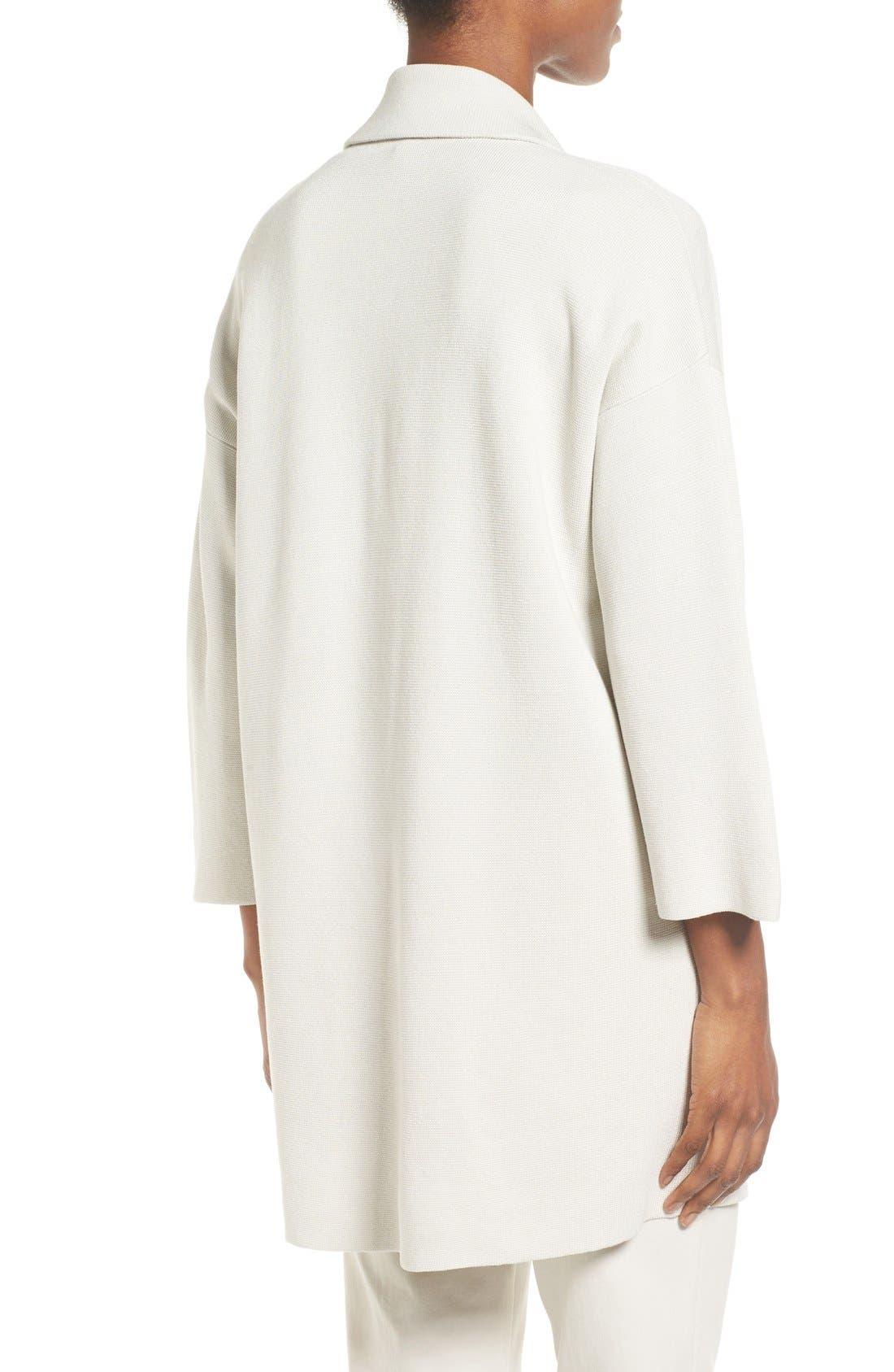 Alternate Image 2  - Eileen Fisher Silk & Organic Cotton Jacket