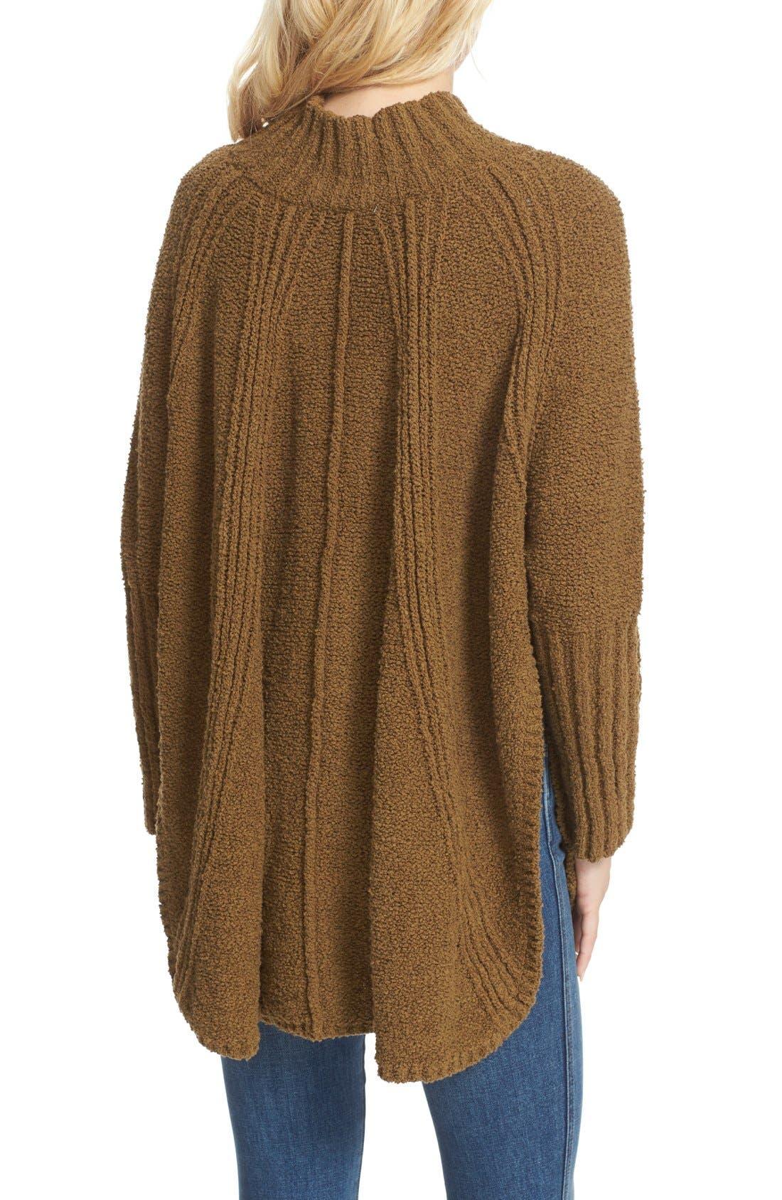 Alternate Image 2  - Free People Spin Around Poncho Sweater