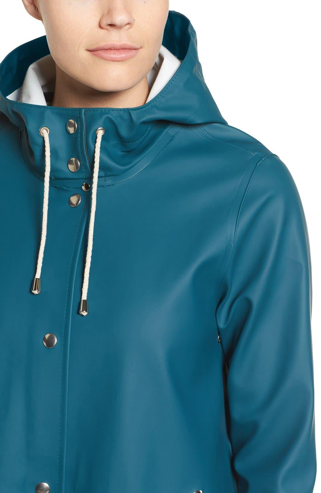 Alternate Image 4  - Stutterheim Mosebacke Waterproof A-Line Raincoat