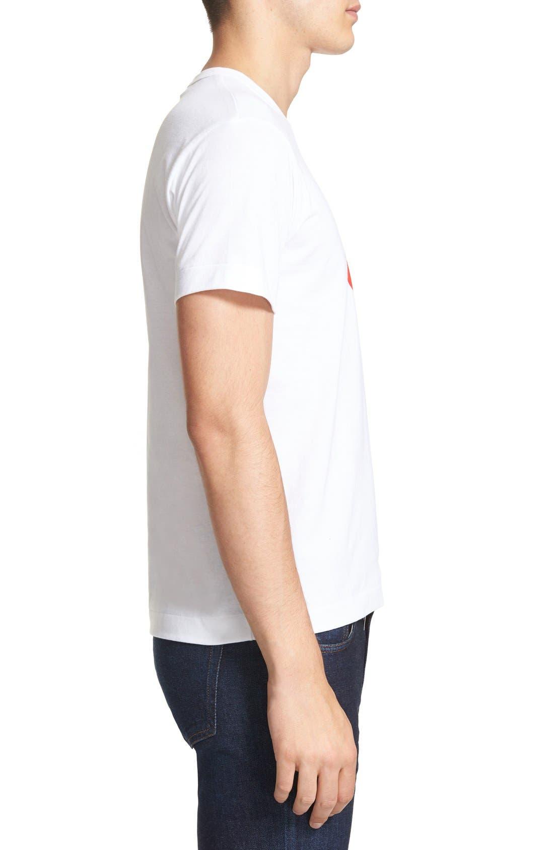 Alternate Image 3  - Comme des Garçons PLAY Graphic T-Shirt