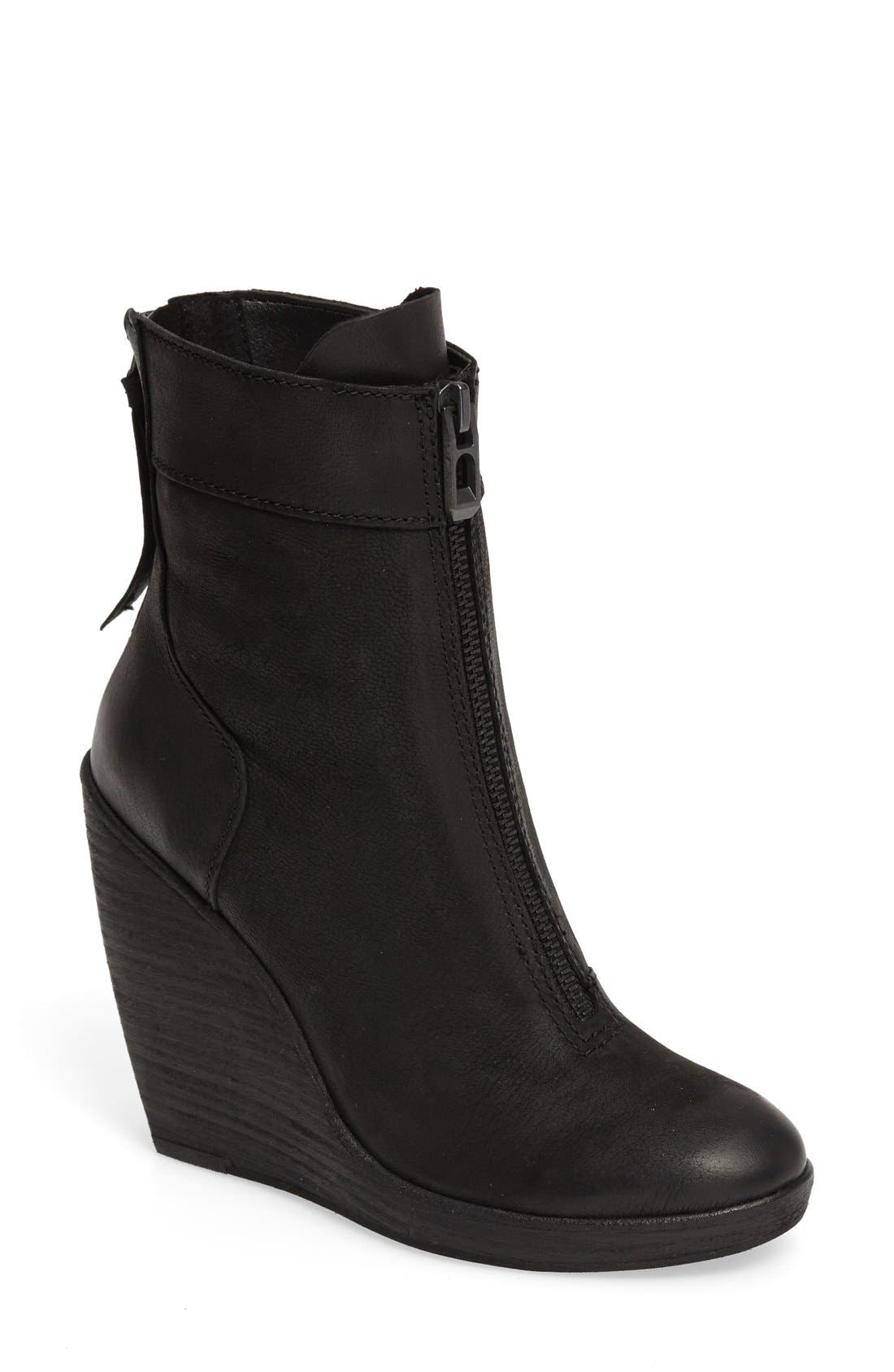 Alternate Image 1 Selected - Dolce Vita Caden Zip Wedge Bootie (Women)