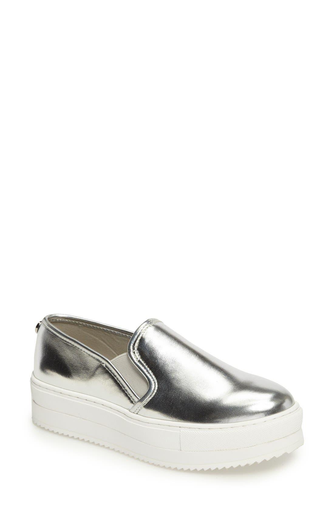 Alternate Image 1 Selected - Steve Madden Slick Platform Sneaker (Women)