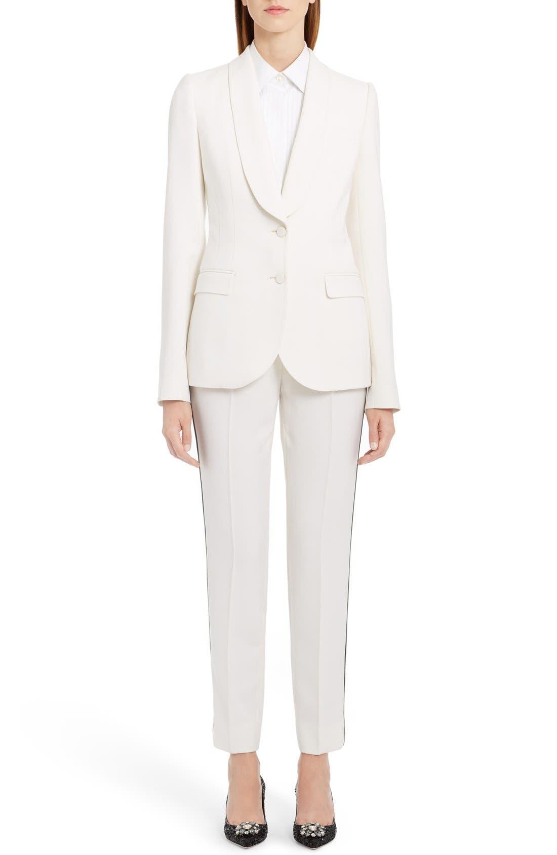 Alternate Image 6  - Dolce&Gabbana Crop Tuxedo Pants