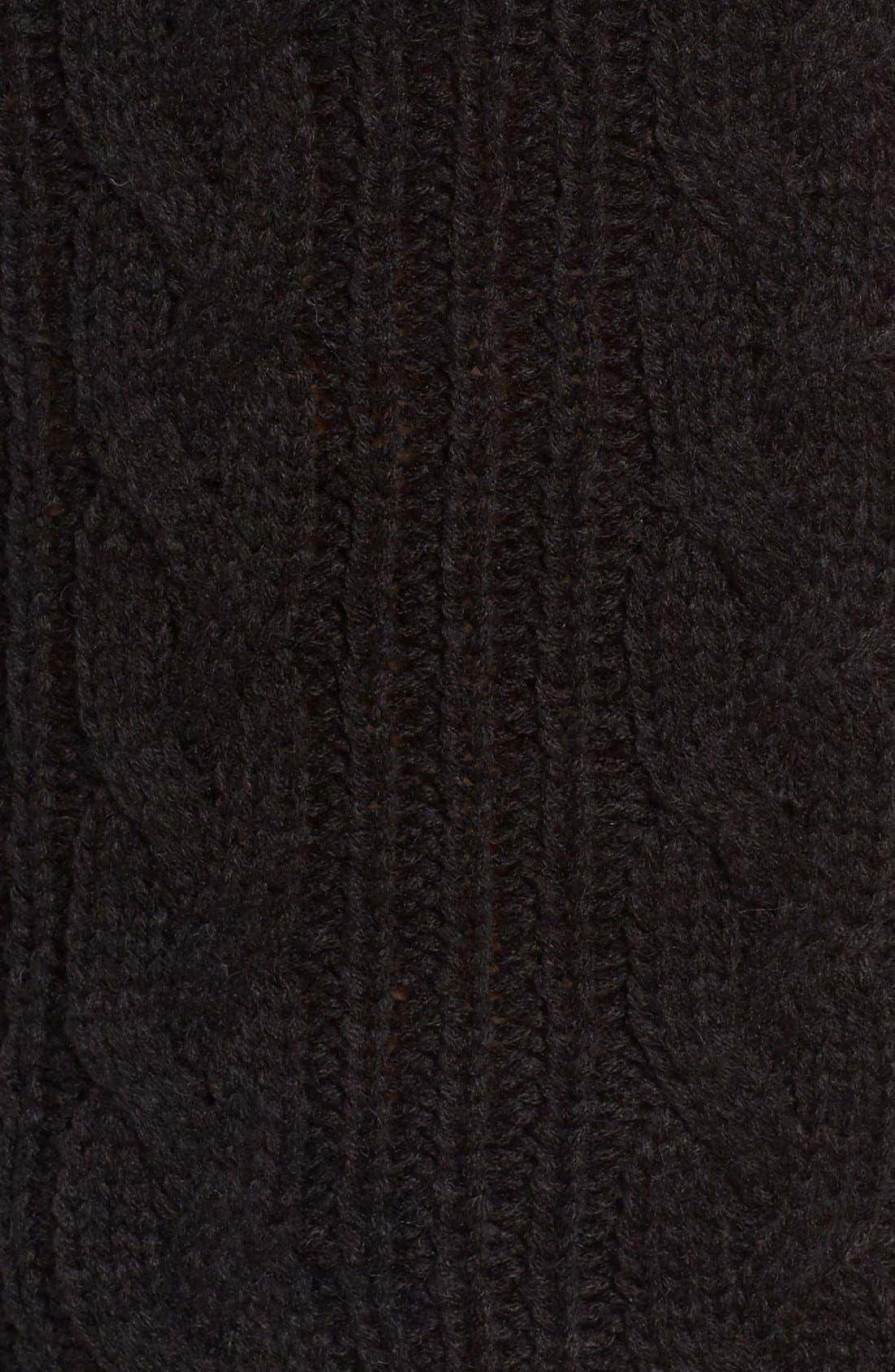 Alternate Image 6  - MOON RIVER Off the Shoulder Sweater