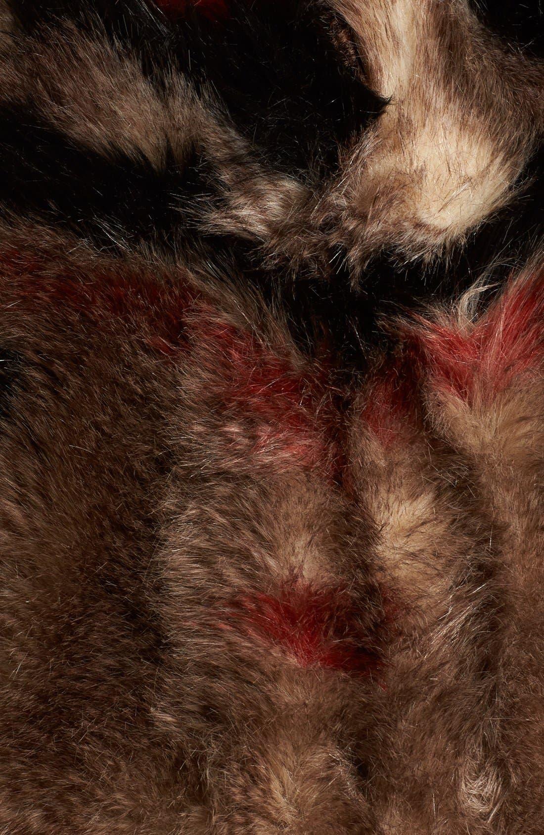 Alternate Image 5  - Free People Scarlet Faux Fur Jacket