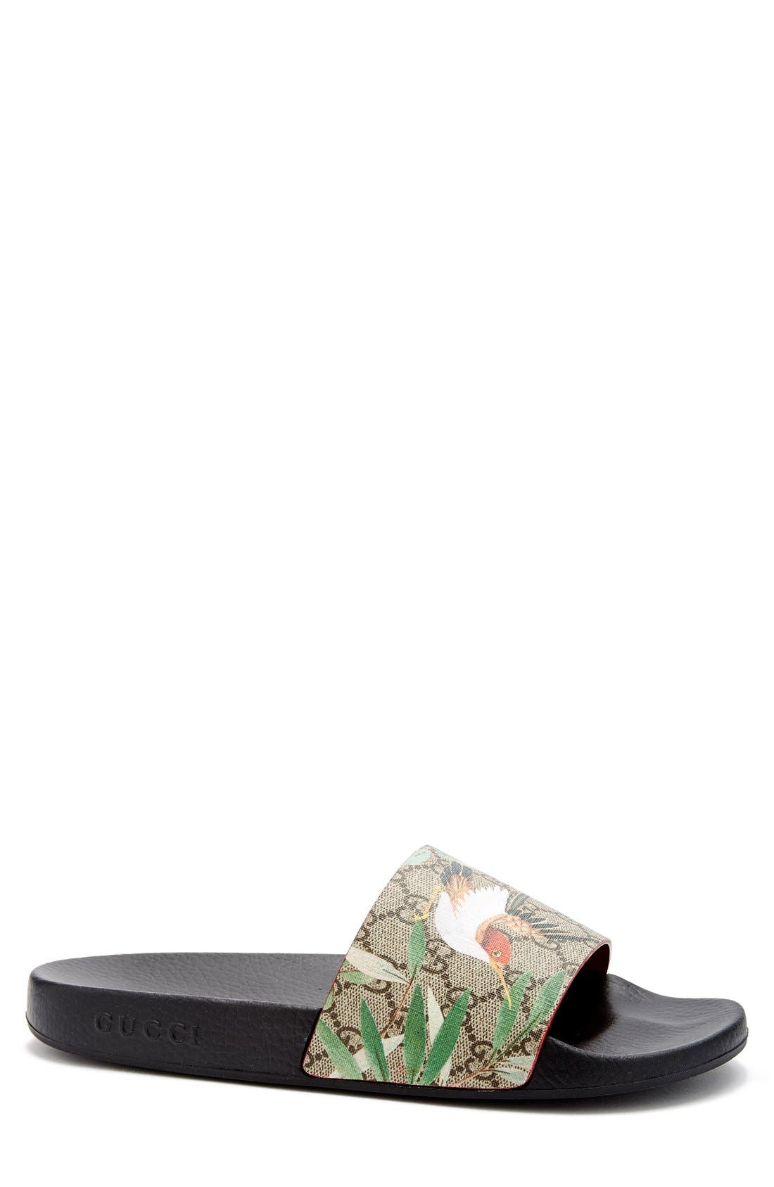 Alternate Image 1 Selected - Gucci 'Pursuit '72 Slide' Sandal (Men)