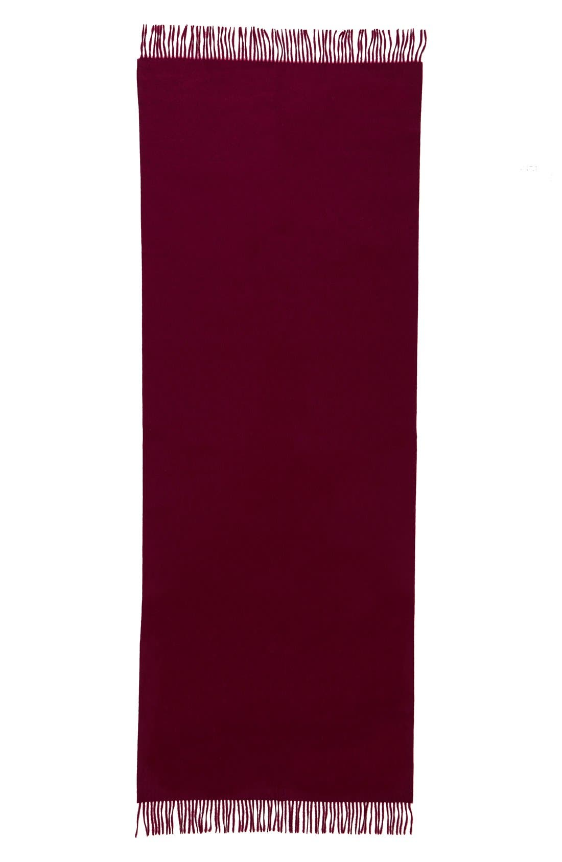 Alternate Image 2  - Nordstrom Collection Oversize Cashmere Wrap