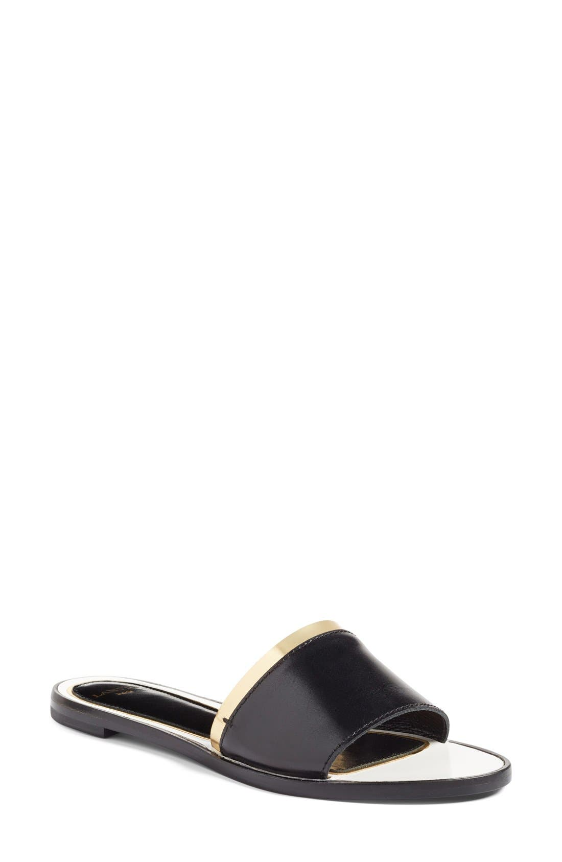 LANVIN Slide Sandal