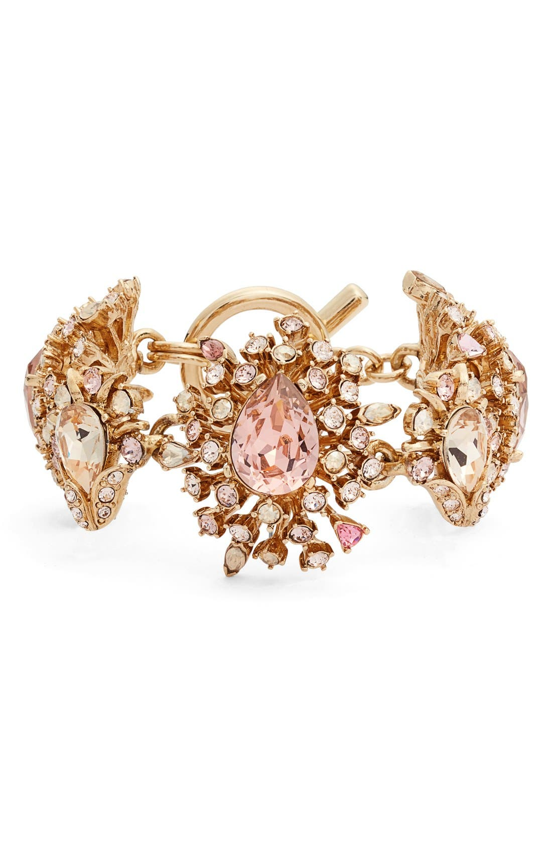 Oscar de la Renta Swarovski Crystal Line Bracelet