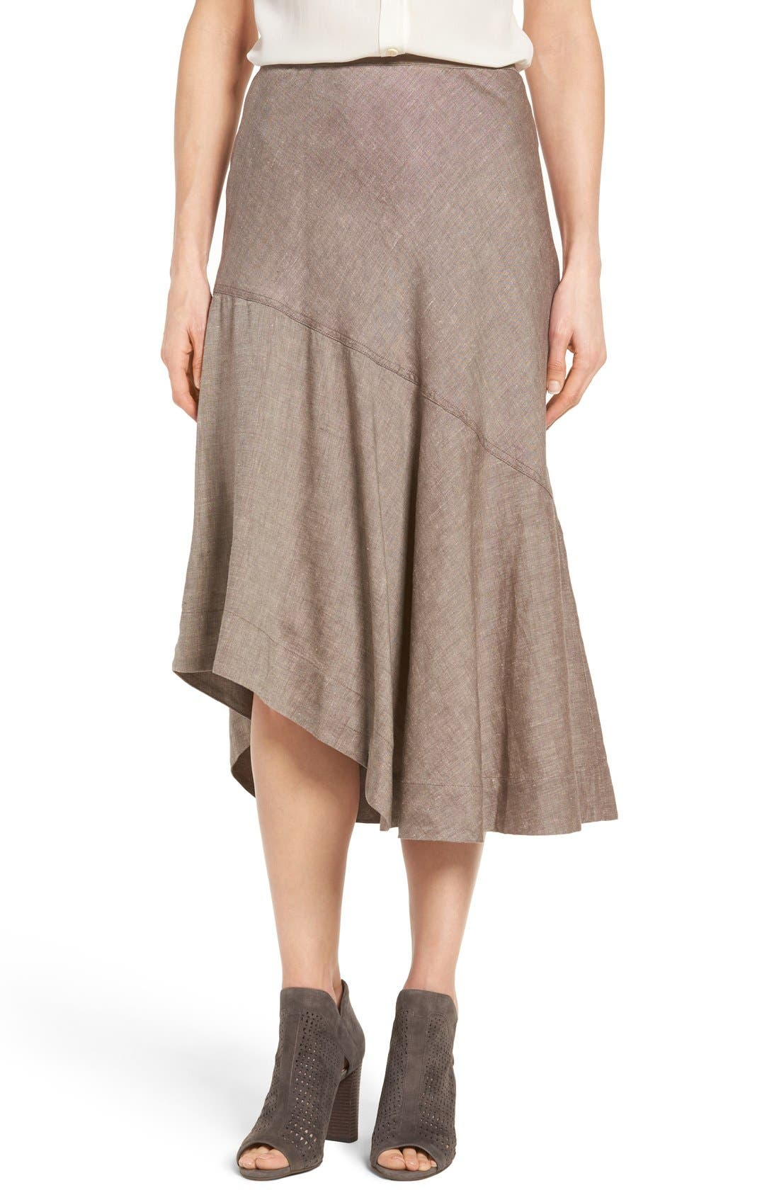 NIC+ZOE 'The Long Engagement' Midi Skirt (Regular & Petite)