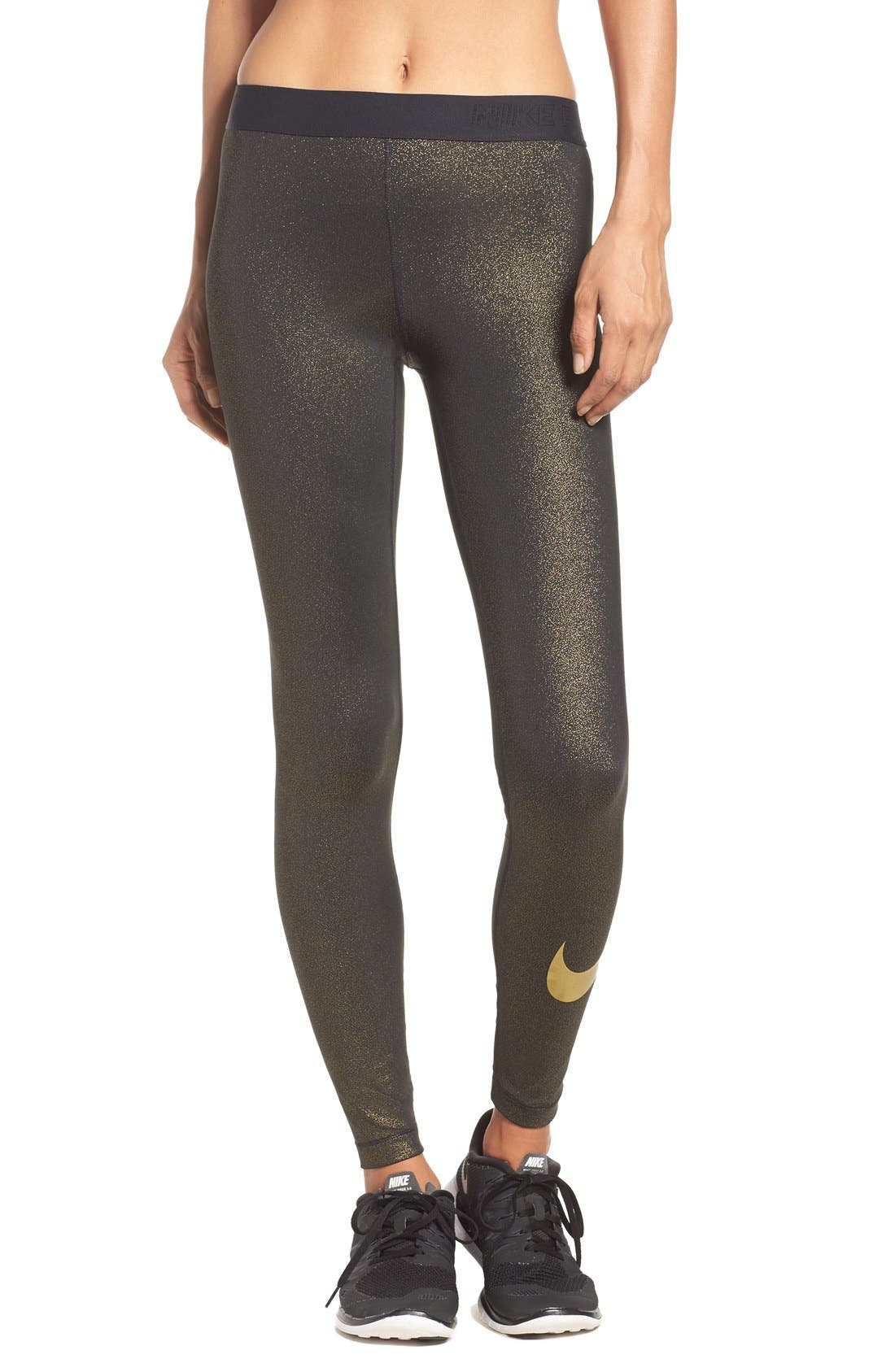 Alternate Image 1 Selected - Nike Pro Cool Dri-FIT Training Tights