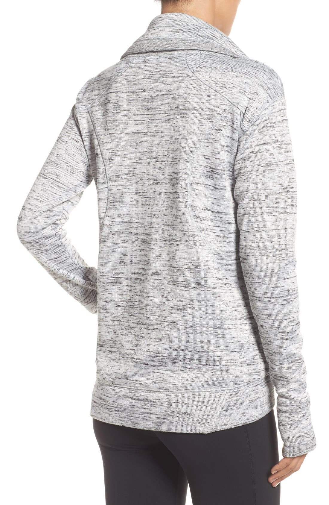 Alternate Image 2  - Zella Cozy to the Core Sweater Jacket