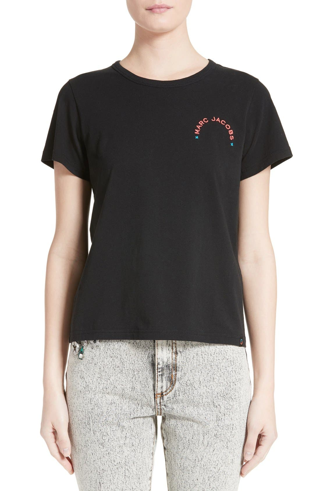Alternate Image 1 Selected - MARC JACOBS Embroidered Tee
