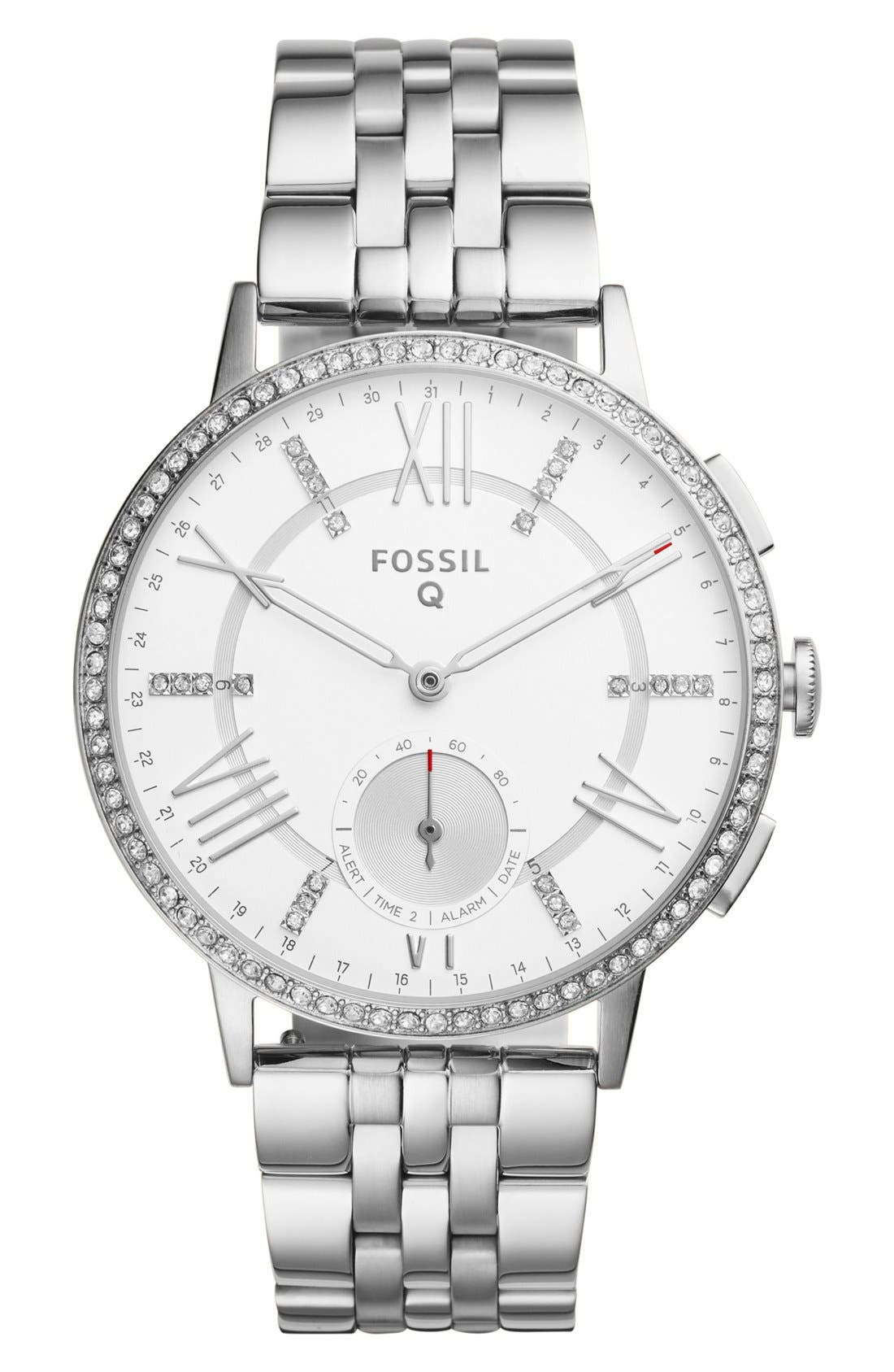 Fossil Q Gazer Hybrid Smart Bracelet Watch, 41mm