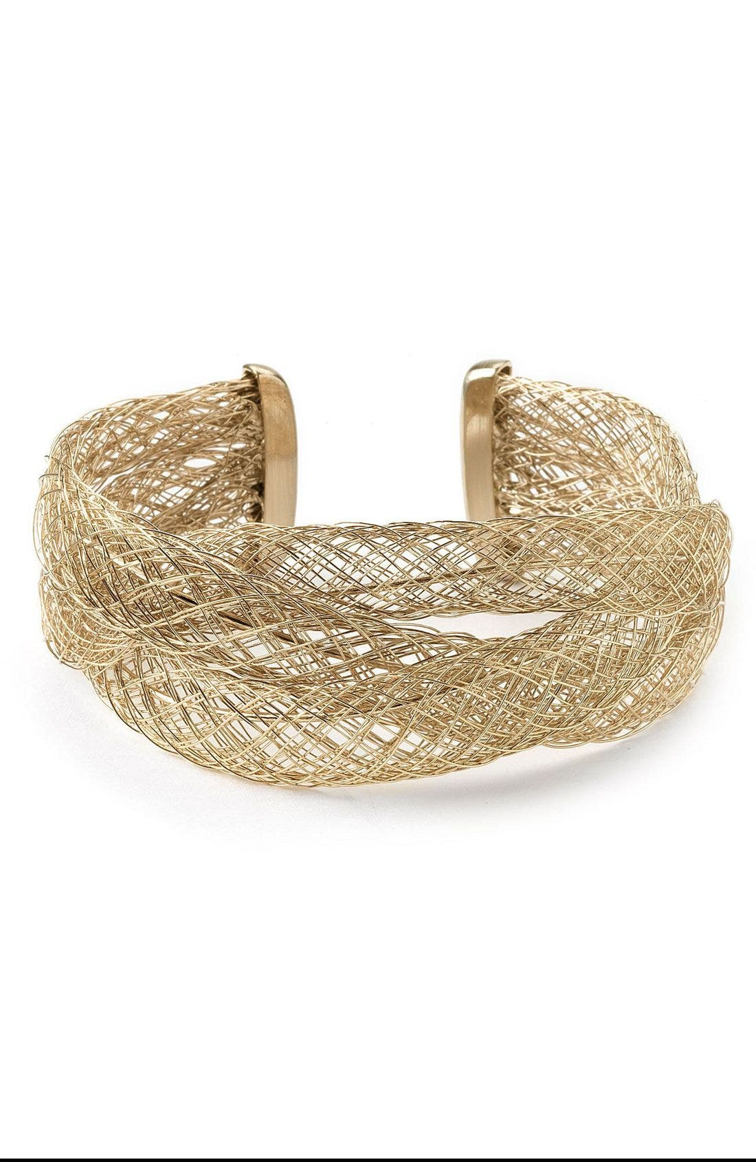 Main Image - Laundry by Shelli Segal Woven Cuff Bracelet