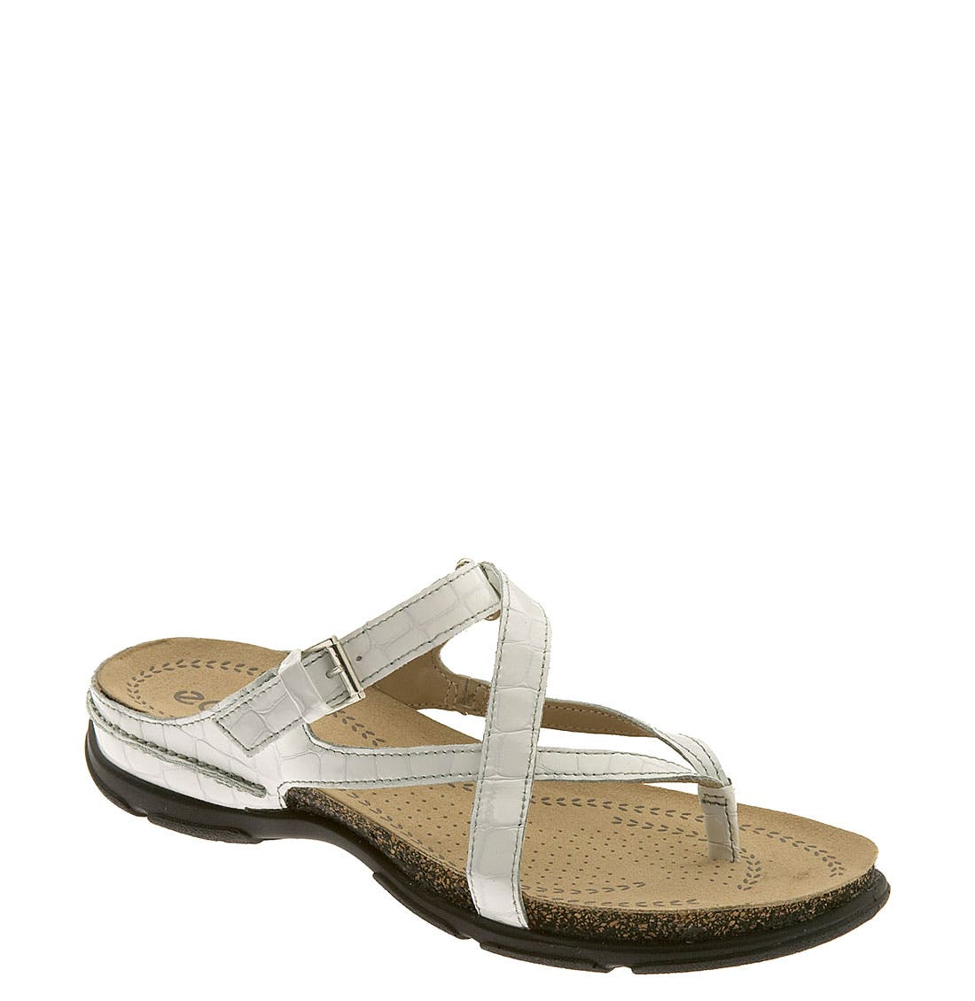 Alternate Image 1 Selected - ECCO 'Living' Thong Sandal