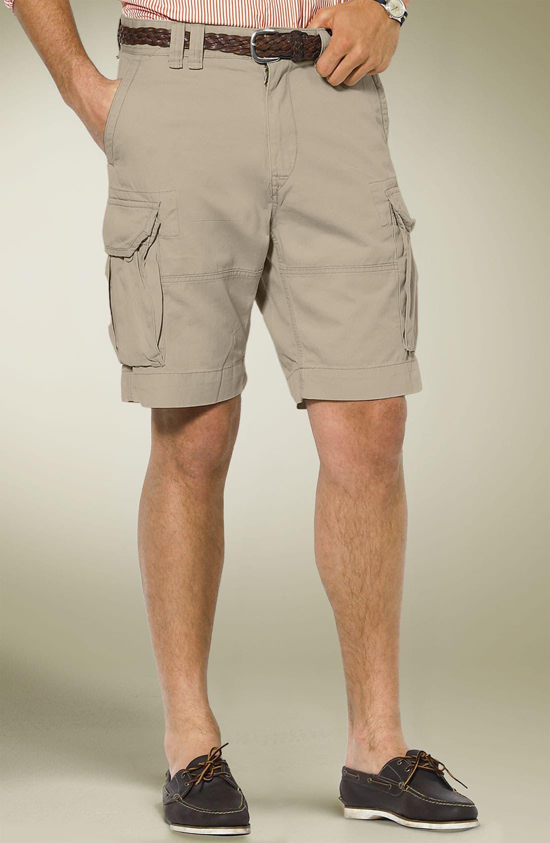 Alternate Image 1 Selected - Polo Ralph Lauren 'Gellar' Fatigue Cargo Shorts