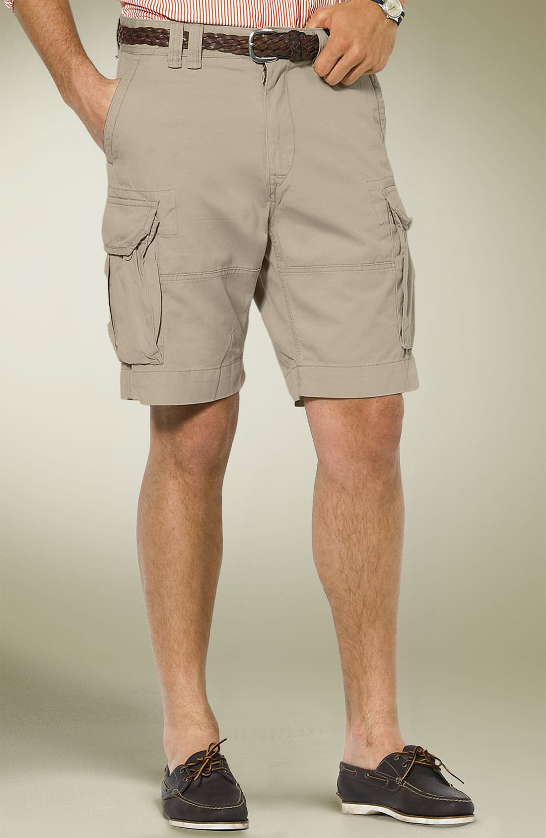 Main Image - Polo Ralph Lauren 'Gellar' Fatigue Cargo Shorts