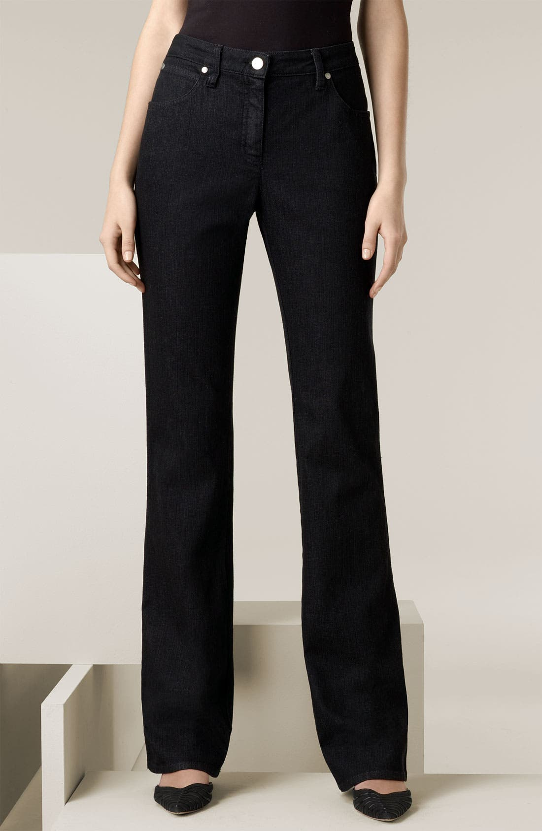 Alternate Image 1 Selected - Armani Collezioni Classic Stretch Denim Jeans