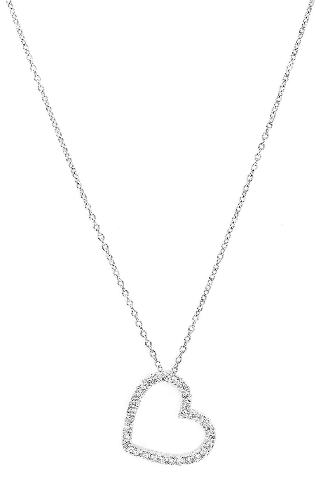 Alternate Image 1 Selected - Kwiat Small Silhouette Diamond Necklace