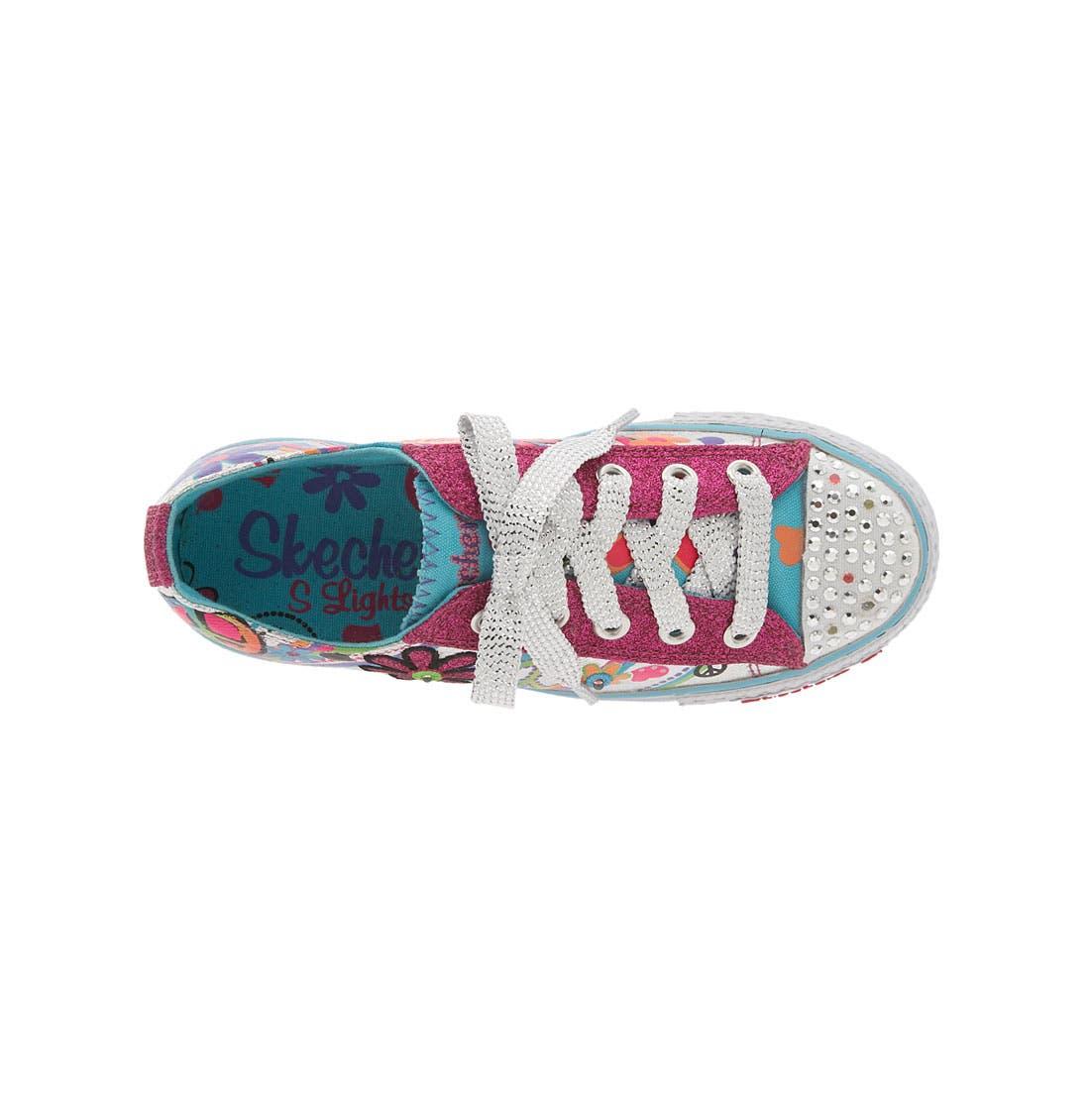 Alternate Image 3  - SKECHERS 'Shuffles - Lights' Sneaker (Walker, Toddler & Little Kid)