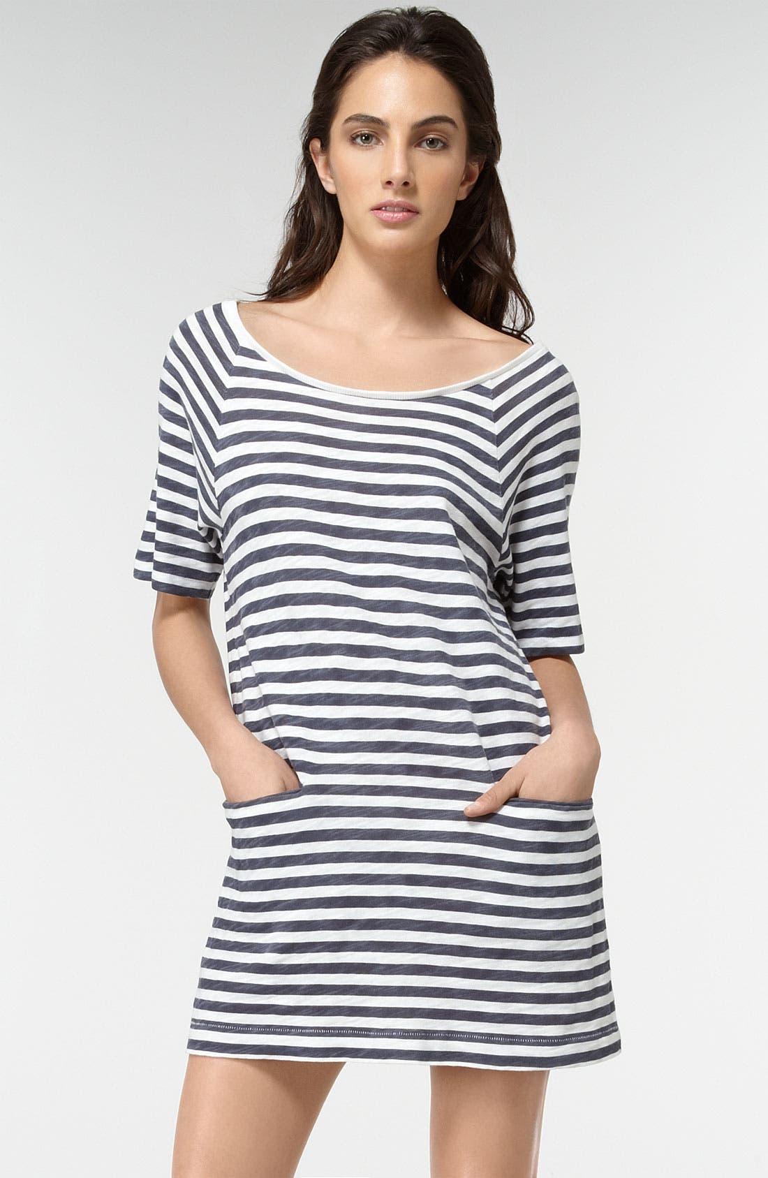 Main Image - Rag & Bone/SHIRT Stripe T-Shirt Dress