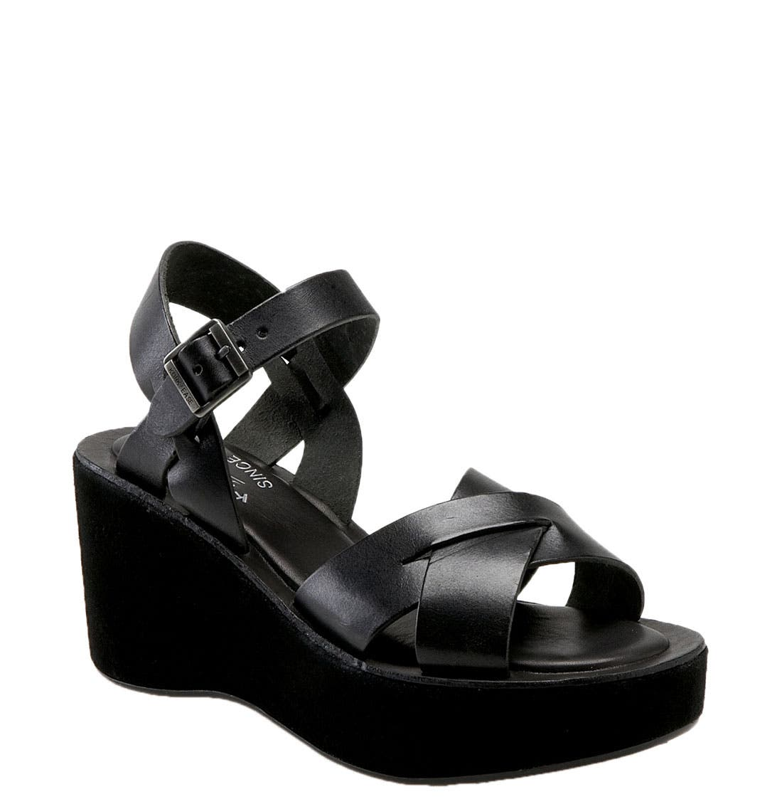 Alternate Image 1 Selected - Kork-Ease 'Ava' Wedge Sandal
