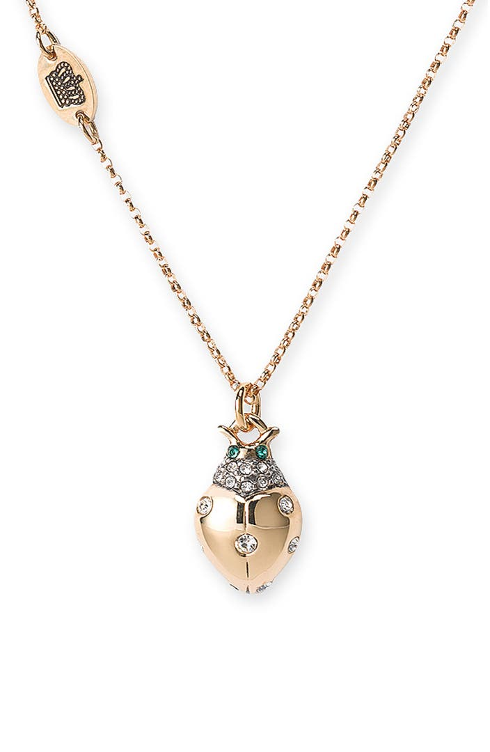 juicy couture 39 wish 39 ladybug necklace nordstrom
