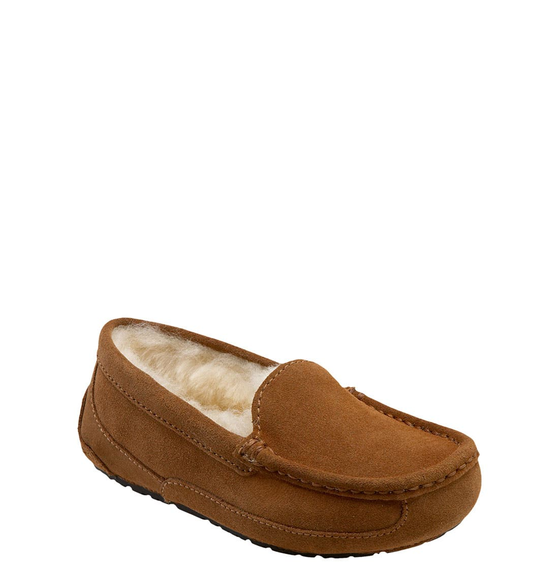 Alternate Image 1 Selected - UGG® Ascot Slipper (Toddler, Little Kid & Big Kid)