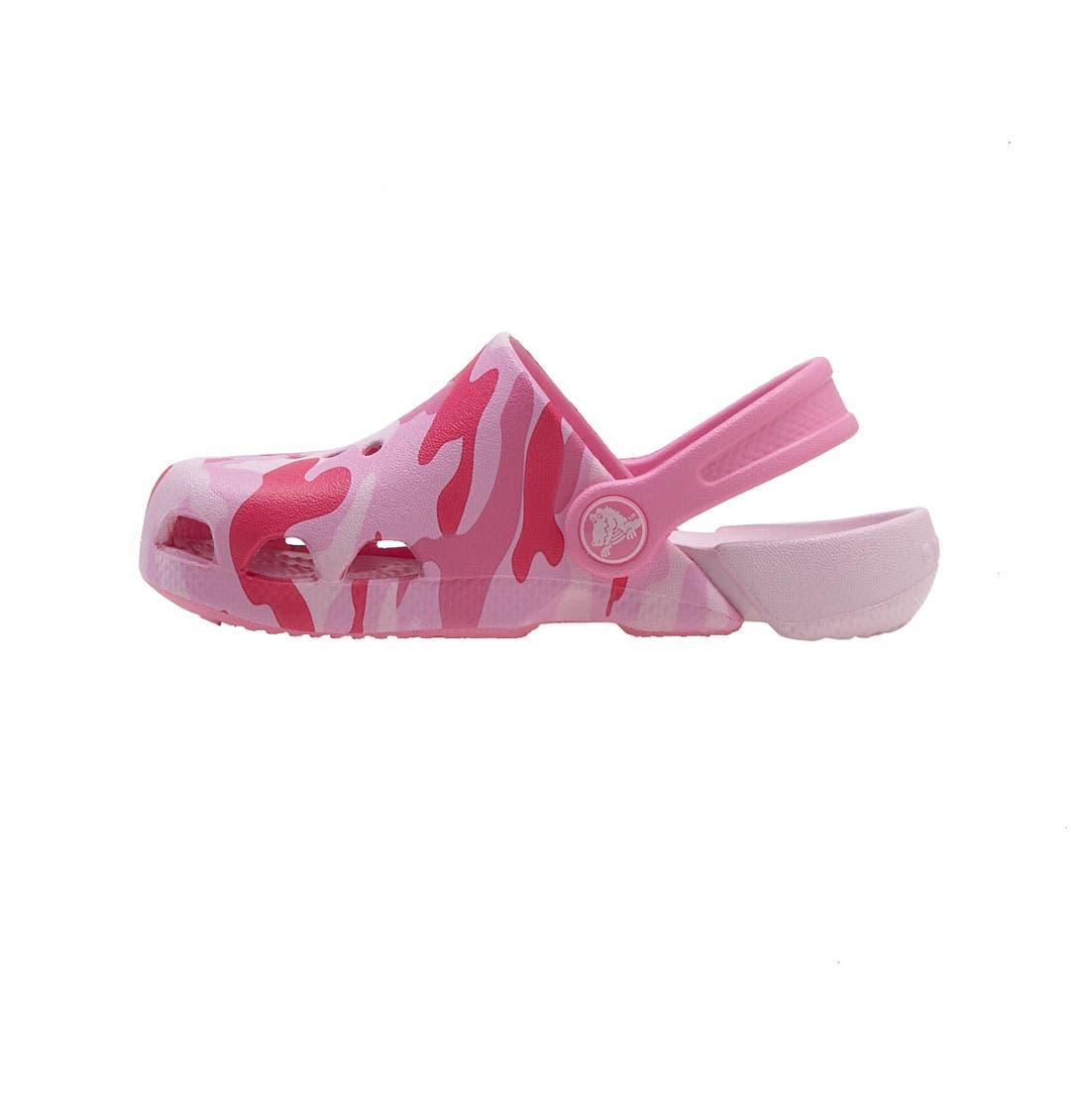 Alternate Image 2  - CROCS™ 'Electro' Sandal (Baby, Walker, Toddler & Little Kid)