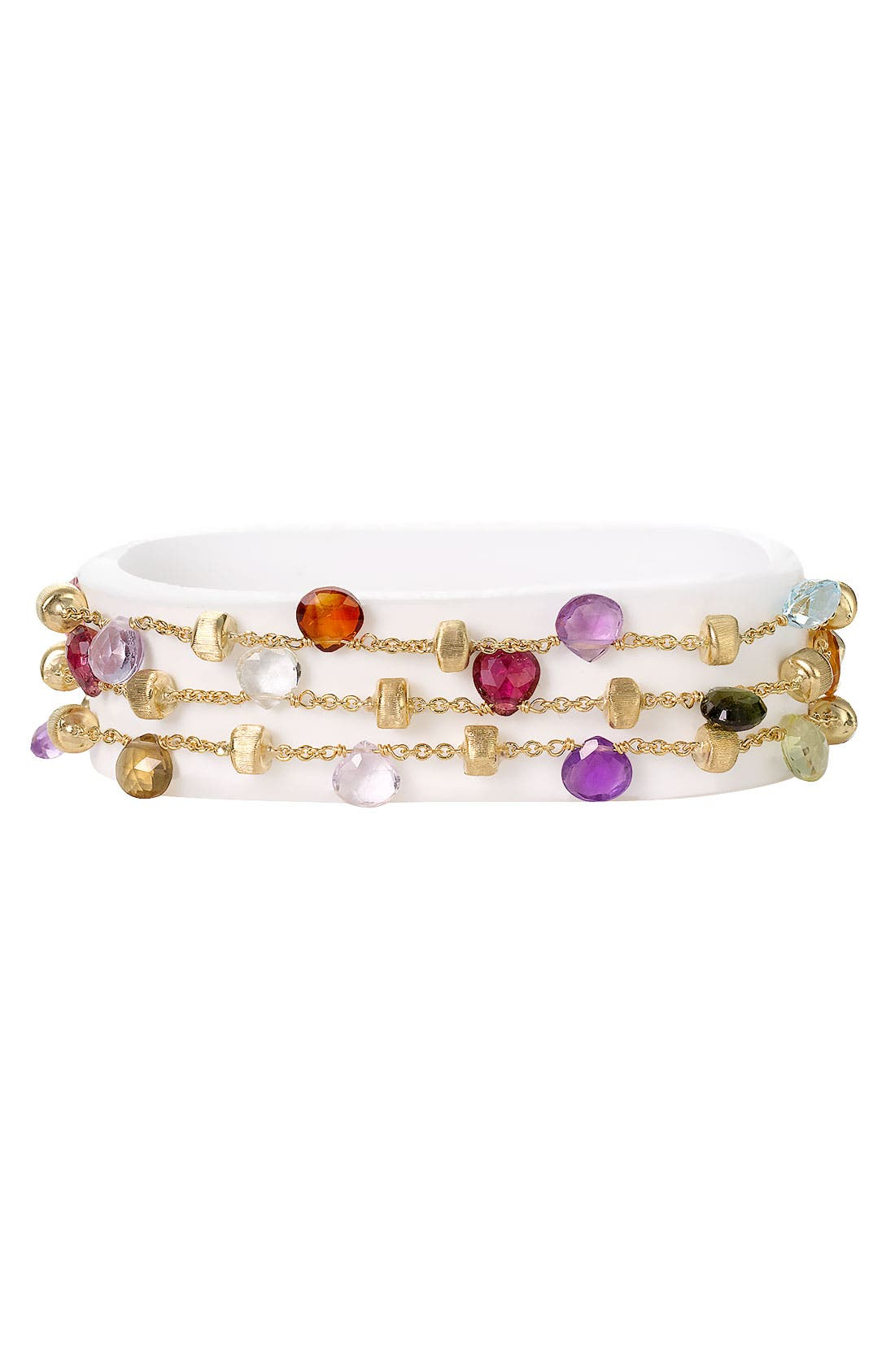 Alternate Image 1 Selected - Marco Bicego 'Paradise' Triple Strand Bracelet