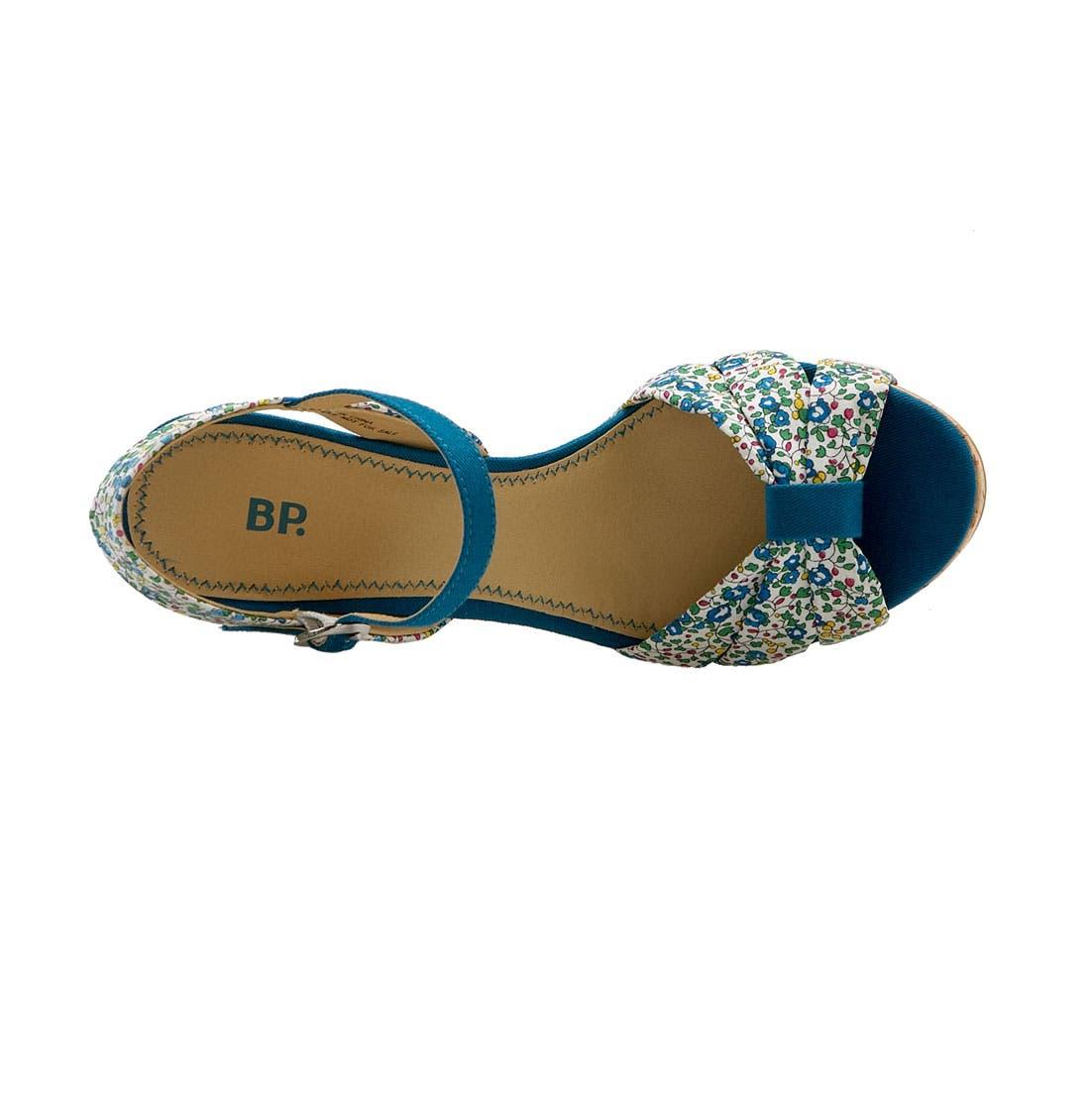 Alternate Image 3  - BP. Cork Wedge Sandal