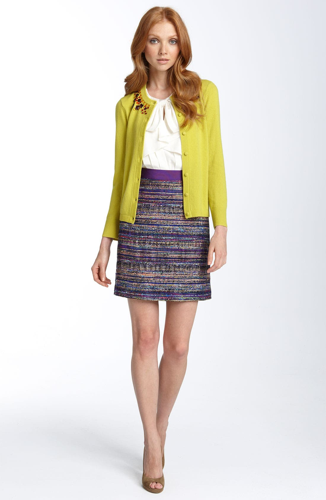 Alternate Image 2  - kate spade new york 'paulina' embellished cardigan