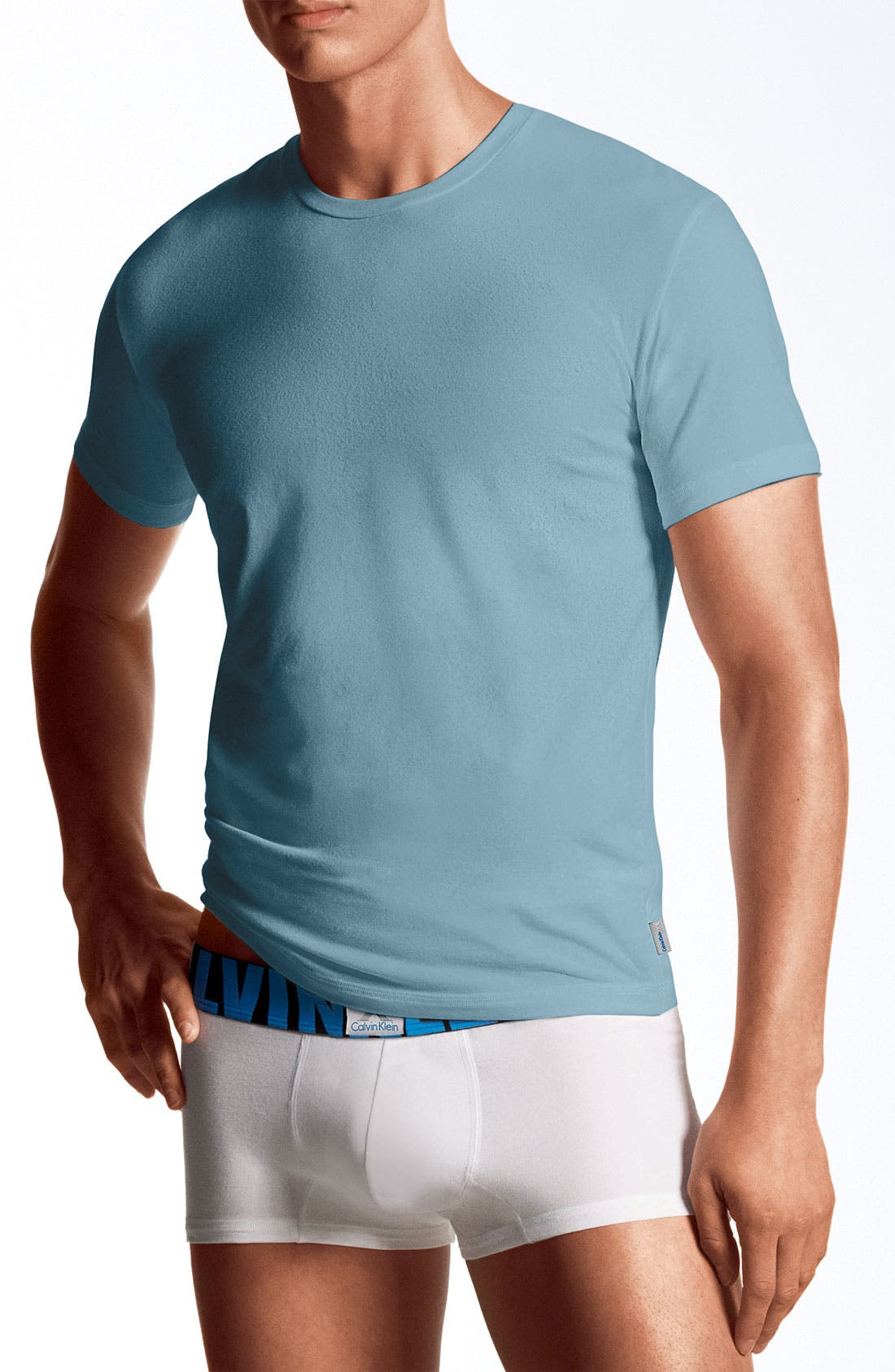 Alternate Image 1 Selected - Calvin Klein 'X' Stretch Cotton T-Shirt