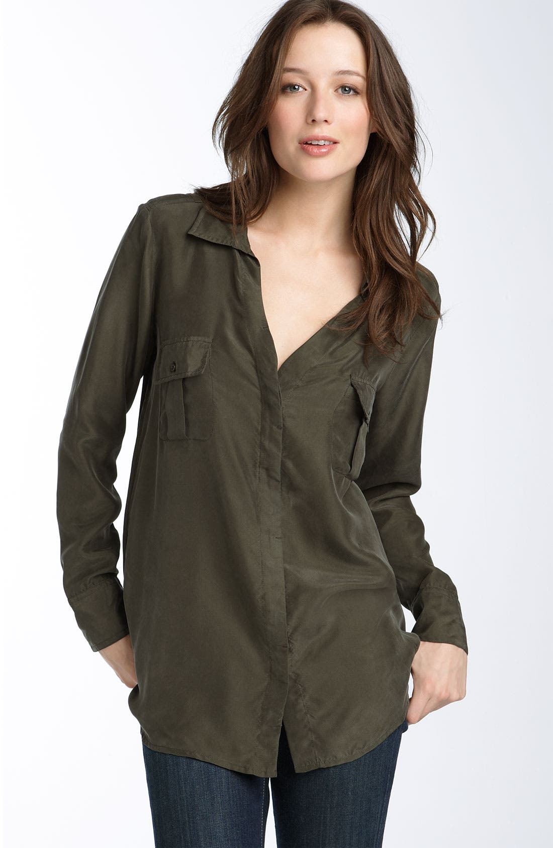 Alternate Image 1 Selected - Calvin Klein Jeans Boyfriend Shirt
