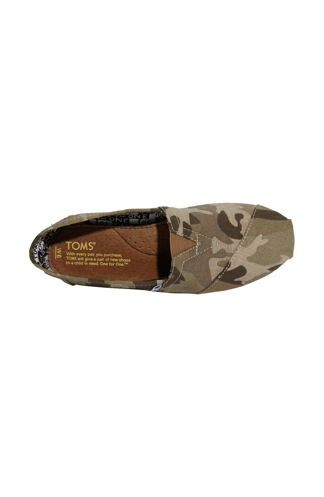 Alternate Image 3  - TOMS 'Classic - Camo' Slip-On (Women) (Nordstrom Exclusive)