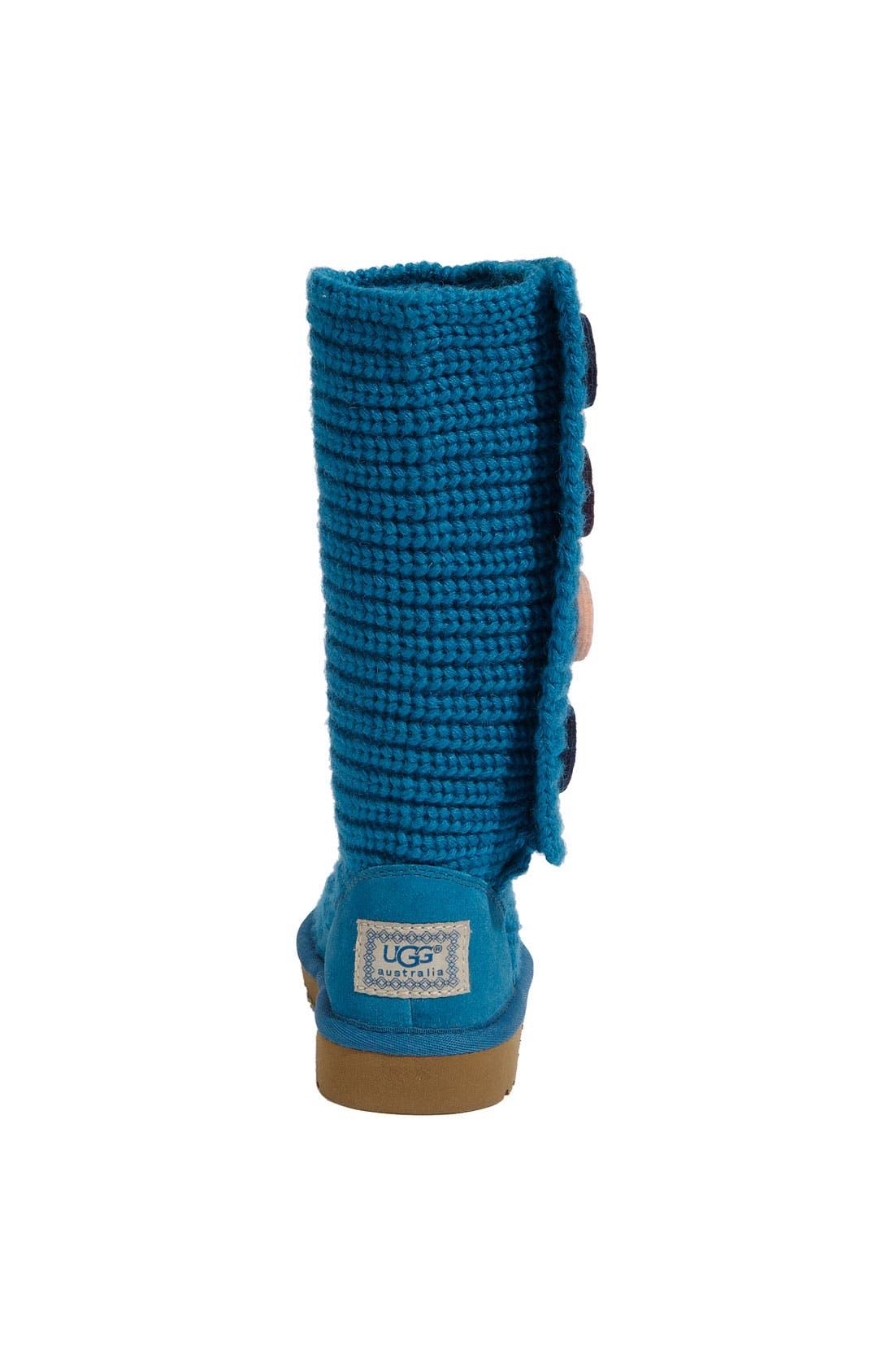 Alternate Image 4  - UGG® Australia 'Cardy II' Crochet Boot (Toddler, Little Kid & Big Kid)