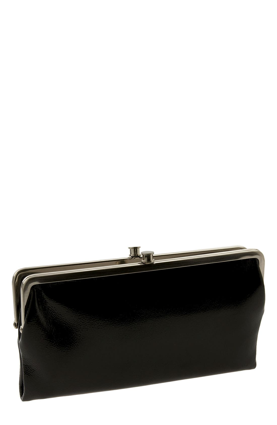 Alternate Image 1 Selected - Hobo 'Belinda' Double Frame Patent Clutch