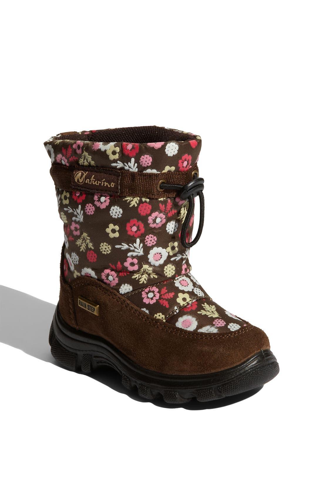 Alternate Image 1 Selected - Naturino 'Varna' Boot (Walker & Toddler)