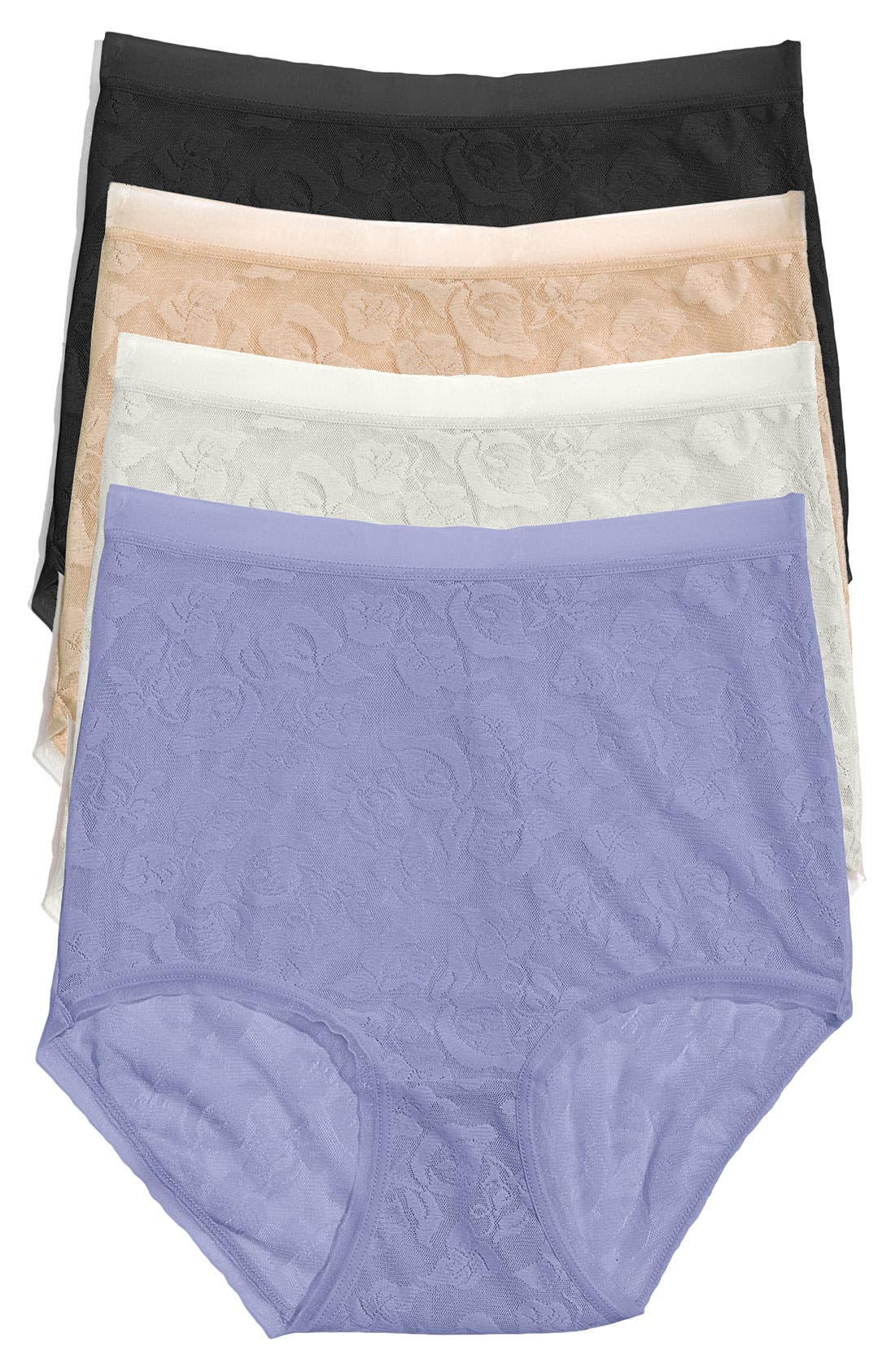 Main Image - Wacoal 'Awareness' High Waist Briefs