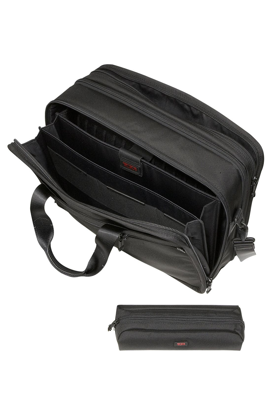 Alternate Image 2  - Tumi 'Large Alpha' Expandable Organizer Computer Briefcase
