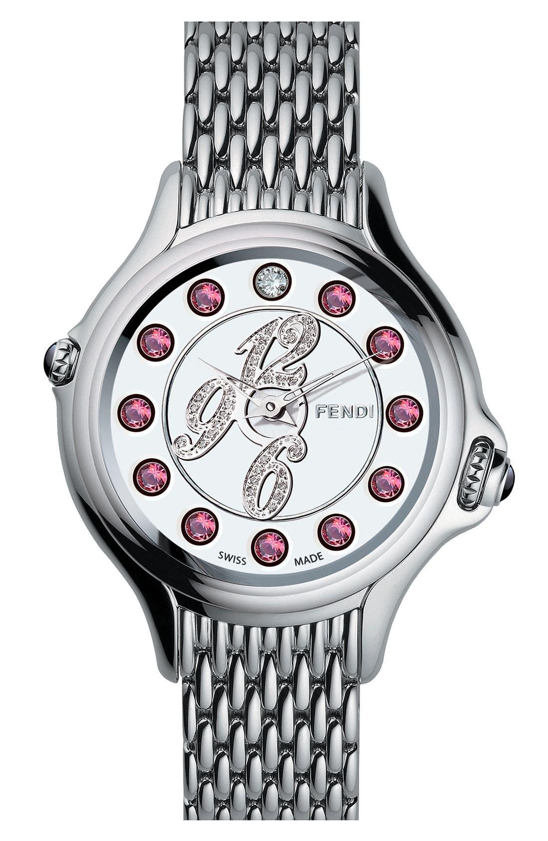 Alternate Image 3  - Fendi 'Crazy Carats' Diamond Bracelet Watch